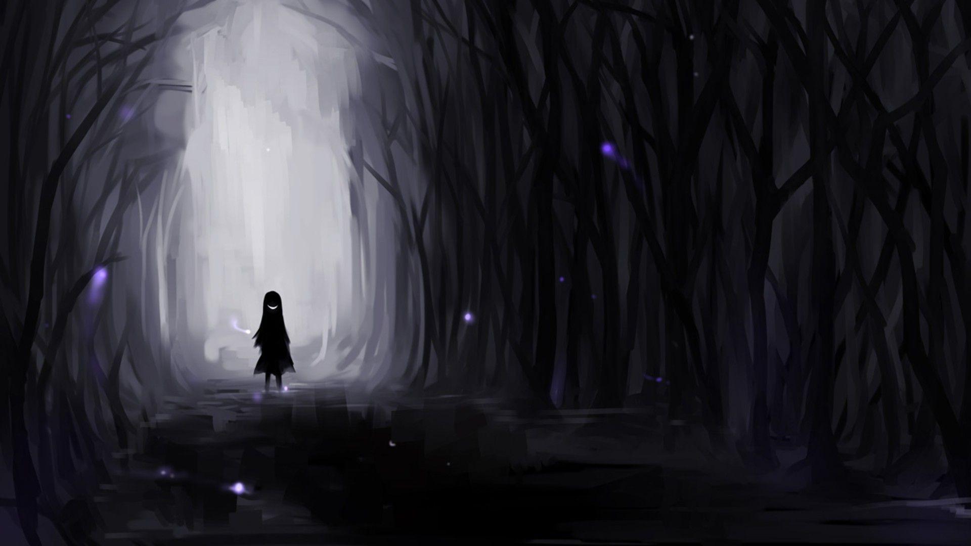 59 Dark Anime Wallpaper Hd