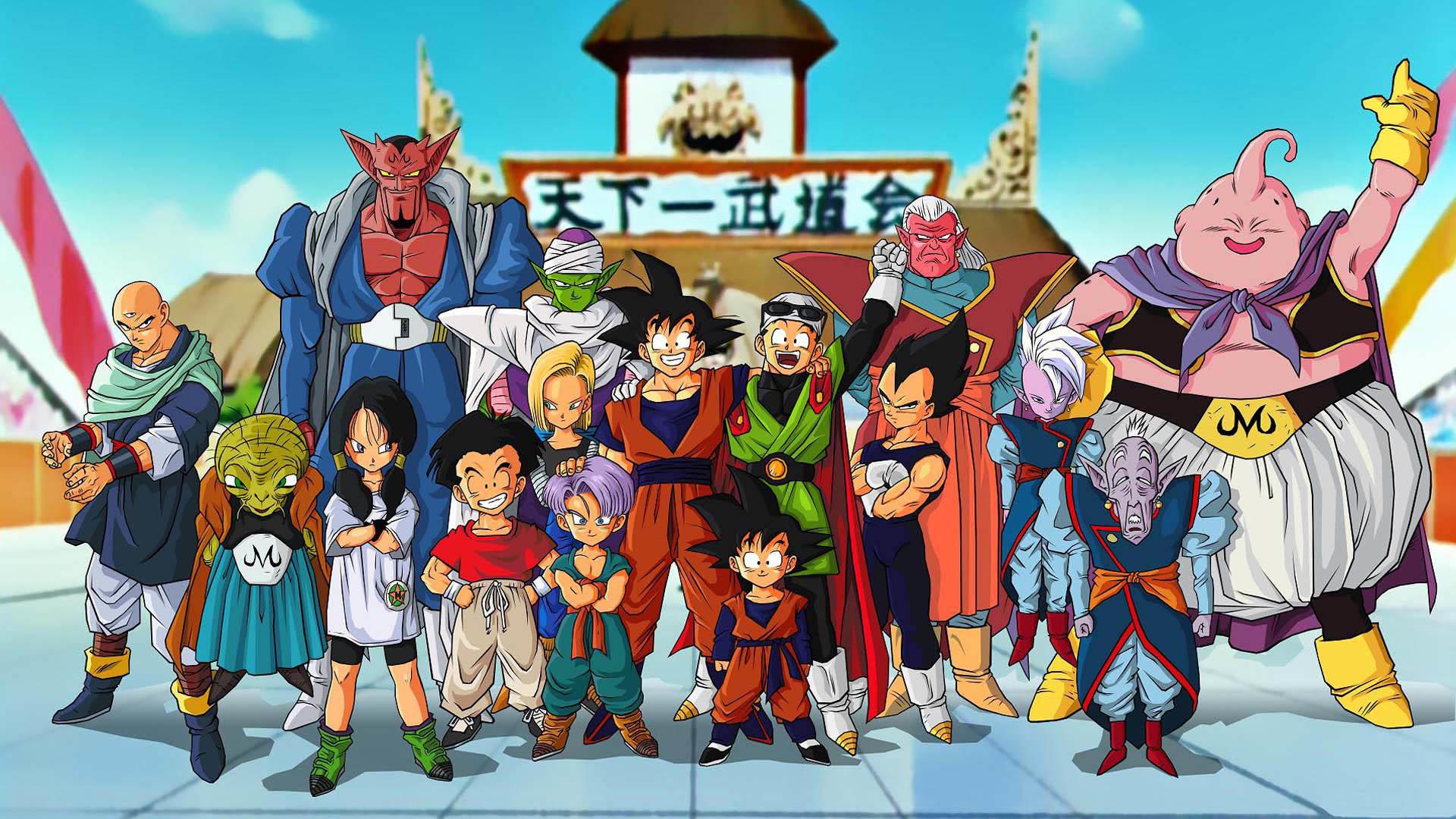 Dragon Ball Z characters wallpaper