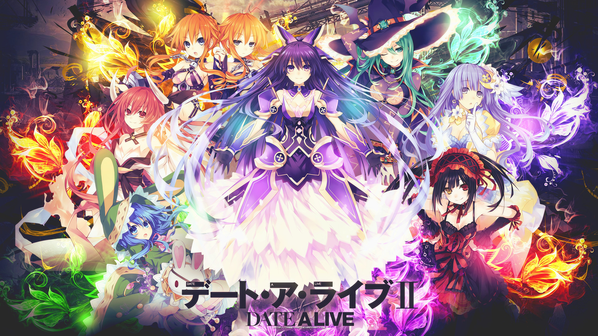 HD Wallpaper | Background ID:694704. Anime Date A Live