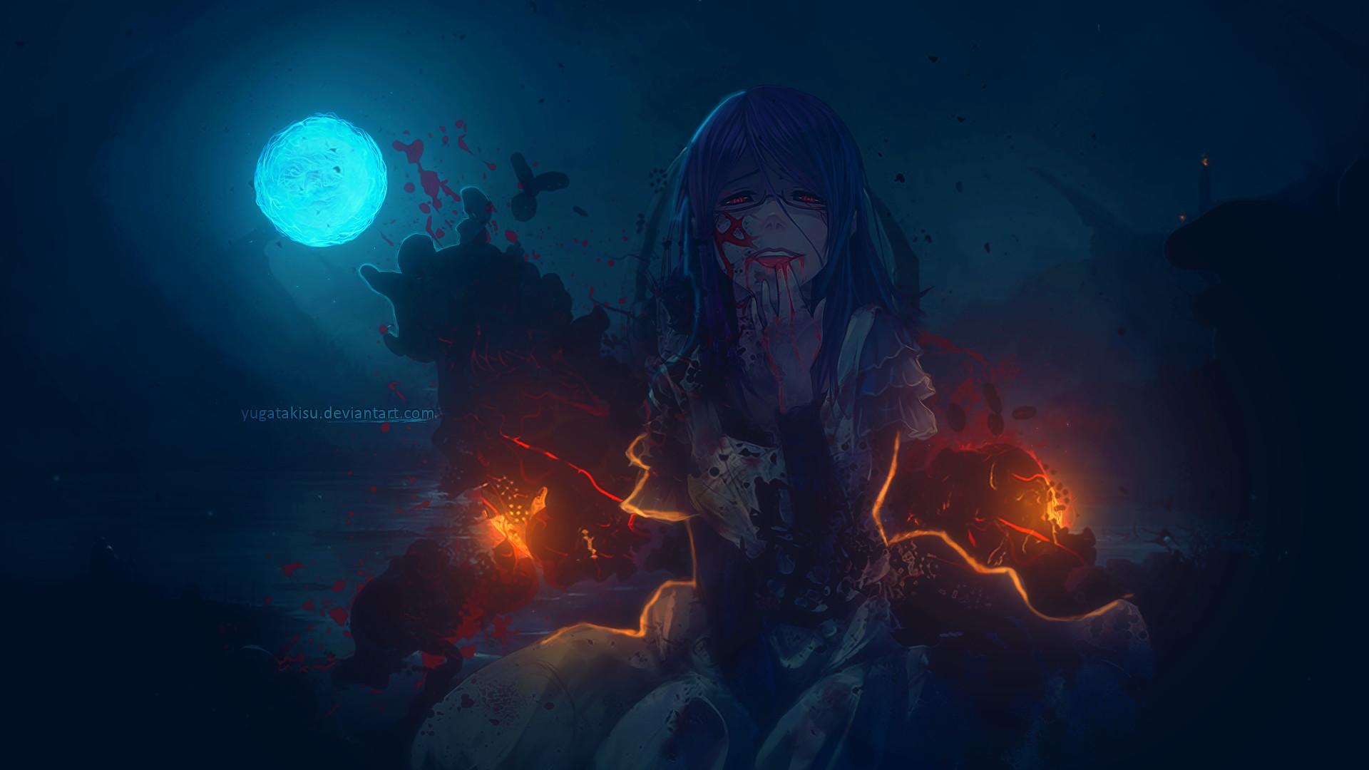 Anime – Tokyo Ghoul Rize Kamishiro Wallpaper