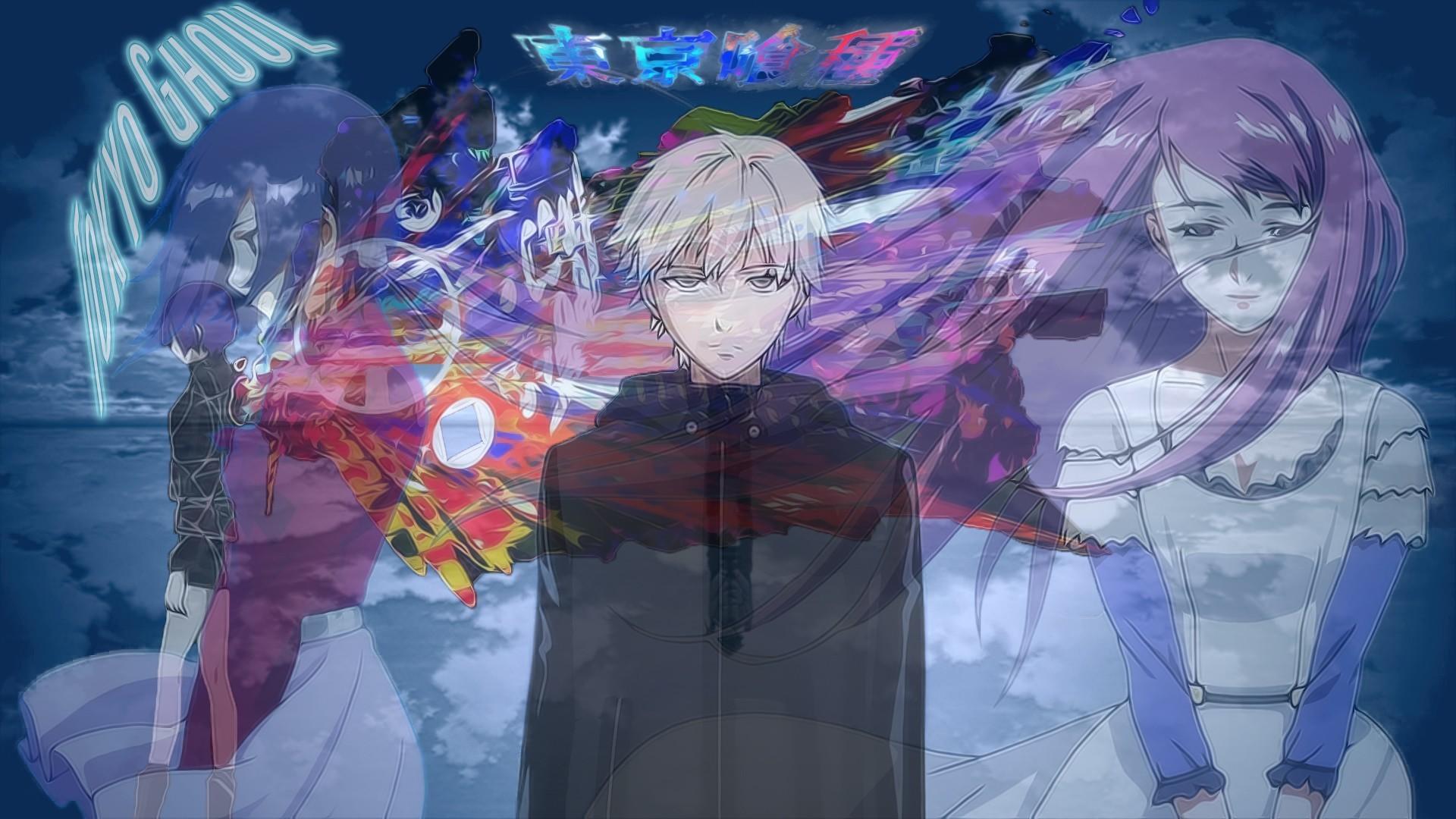 Tokyo Ghoul, Kaneki Ken, Kirishima Touka, Kamishiro Rize Wallpapers HD /  Desktop and Mobile Backgrounds