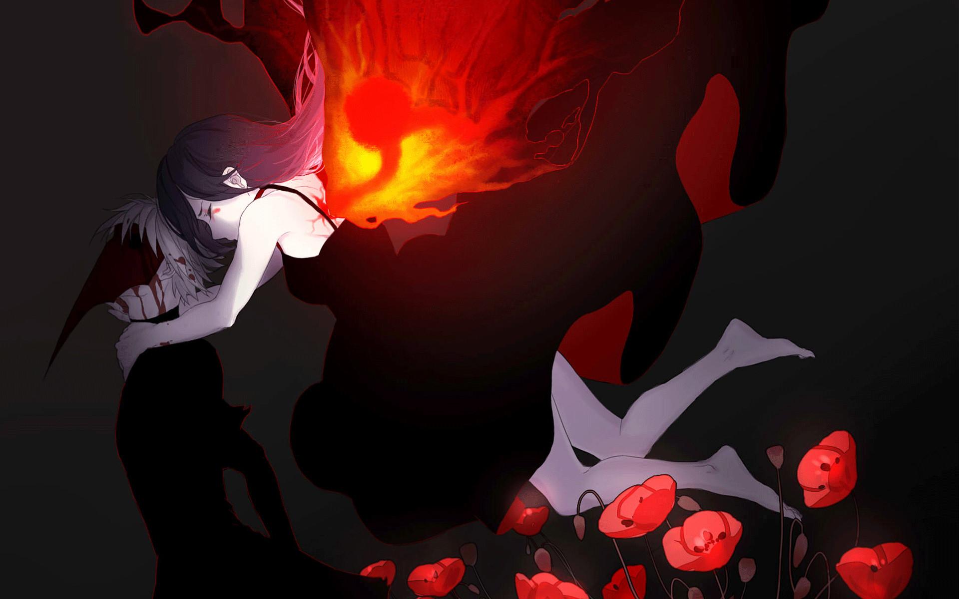 Anime Tokyo Ghoul Touka Kirishima Ken Kaneki Wallpaper