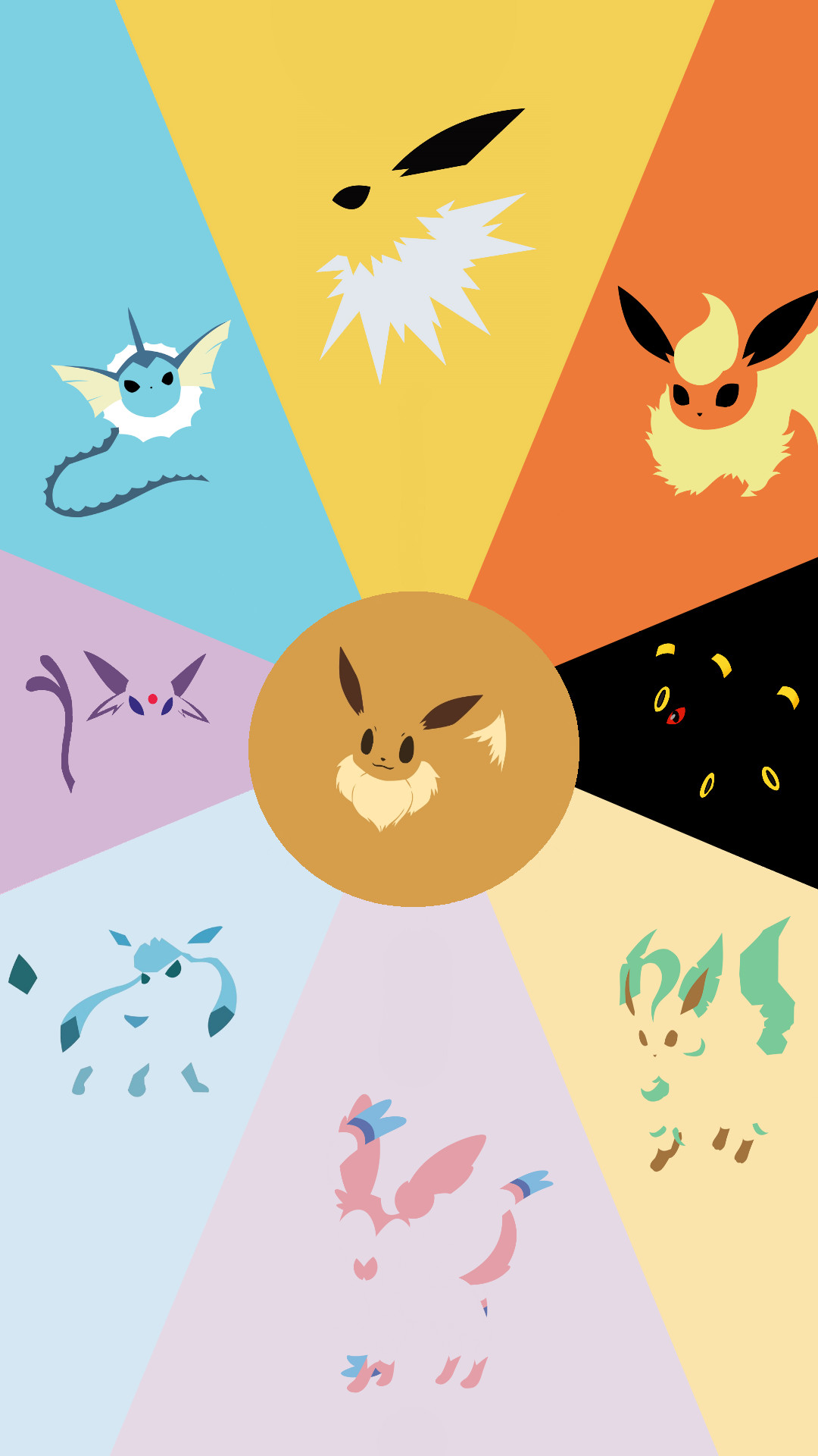 Phone Wallpapers. Pokemon EeveeEevee EvolutionsCute …