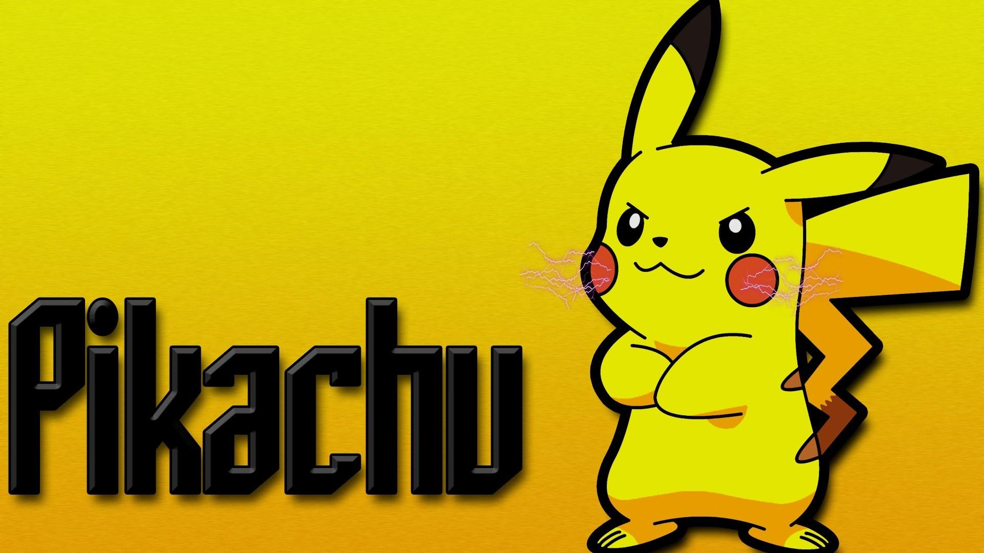 pikachu computer wallpaper