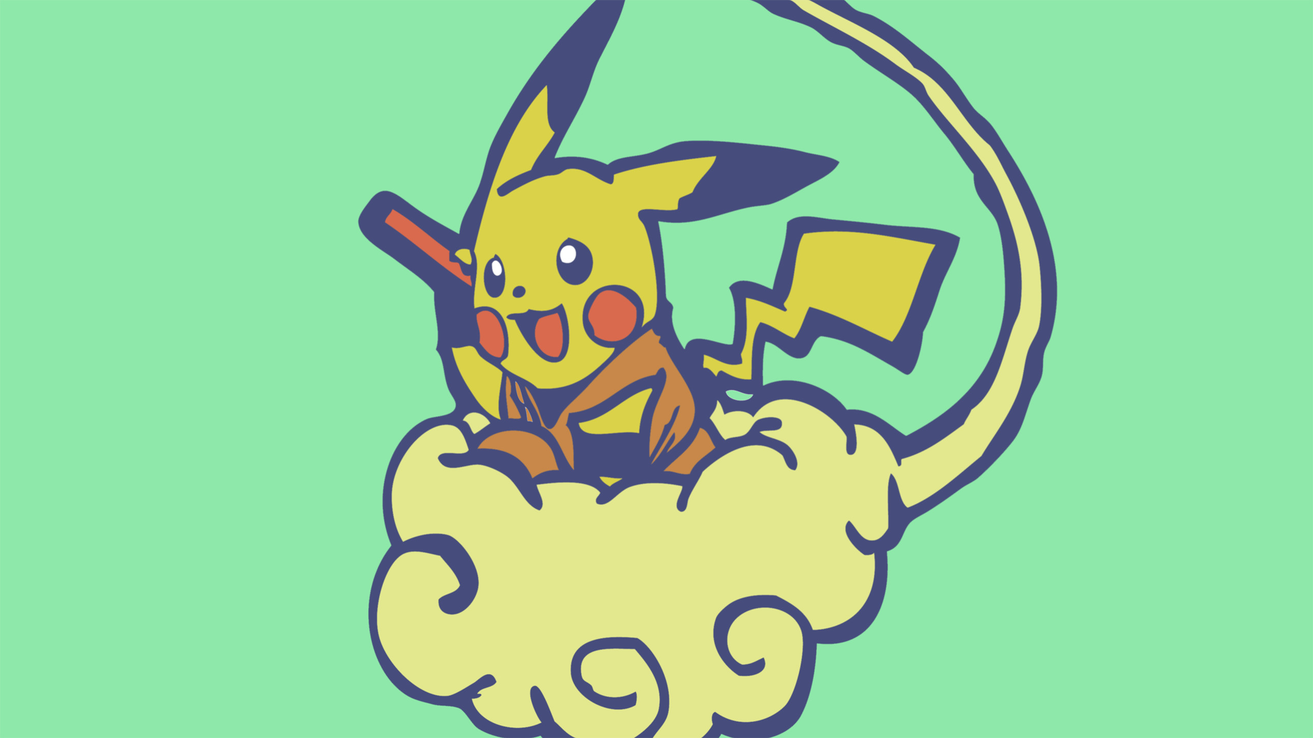 Anime РCrossover Pikachu Dragon Ball Z Pok̩mon Wallpaper