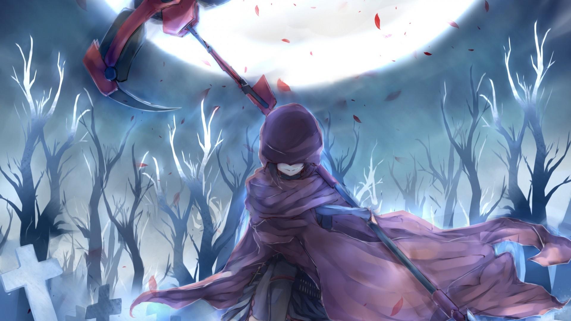 soul eater , anime , girl , guns , scythe