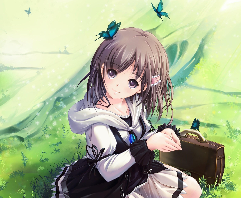 Cute Anime Girl HD Wallpapers 6