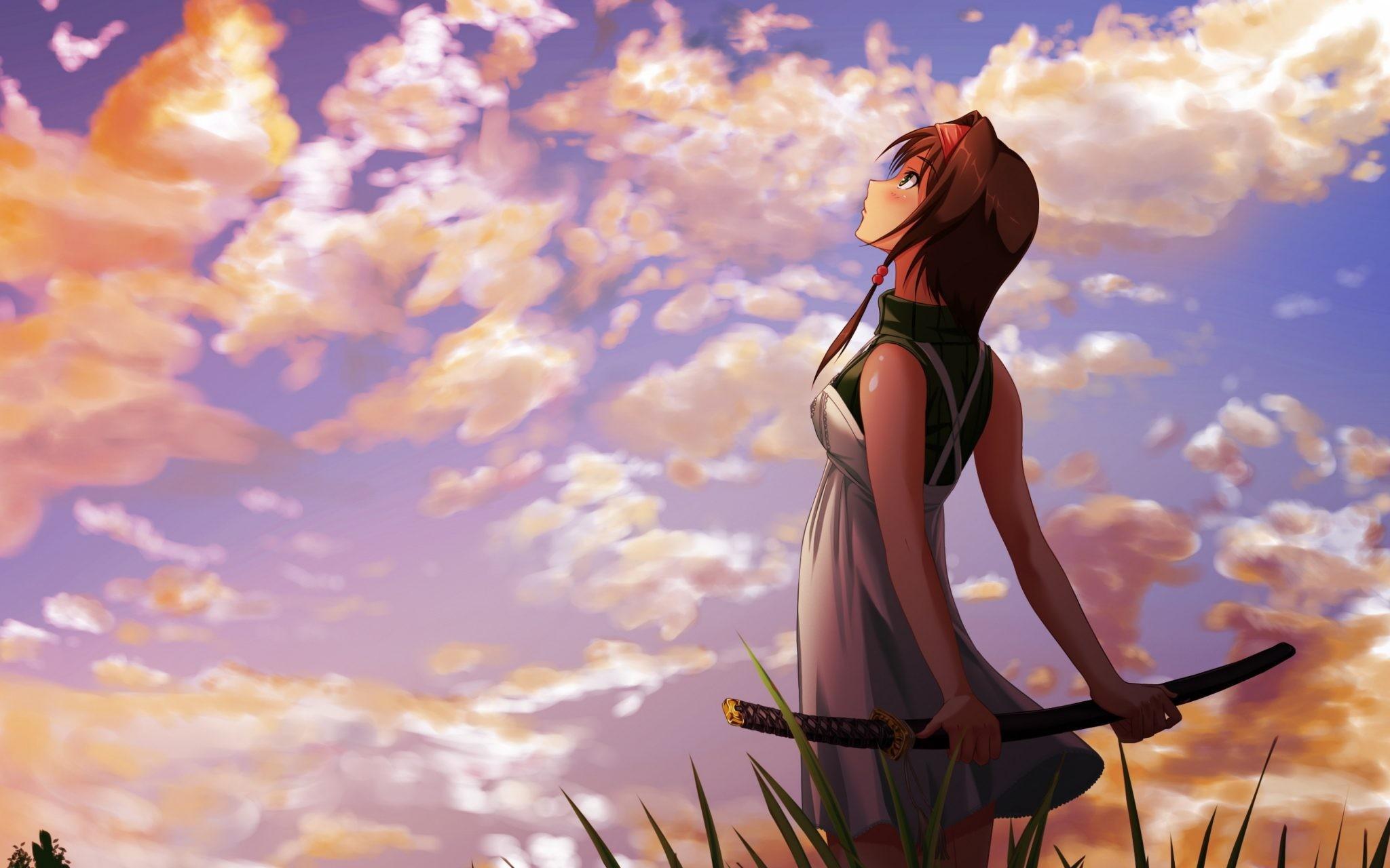 … Fantastic 4K Wallpapers Anime Girl Wallpaper in Wallpaper 4K- you can  download Anime Girl Wallpaper
