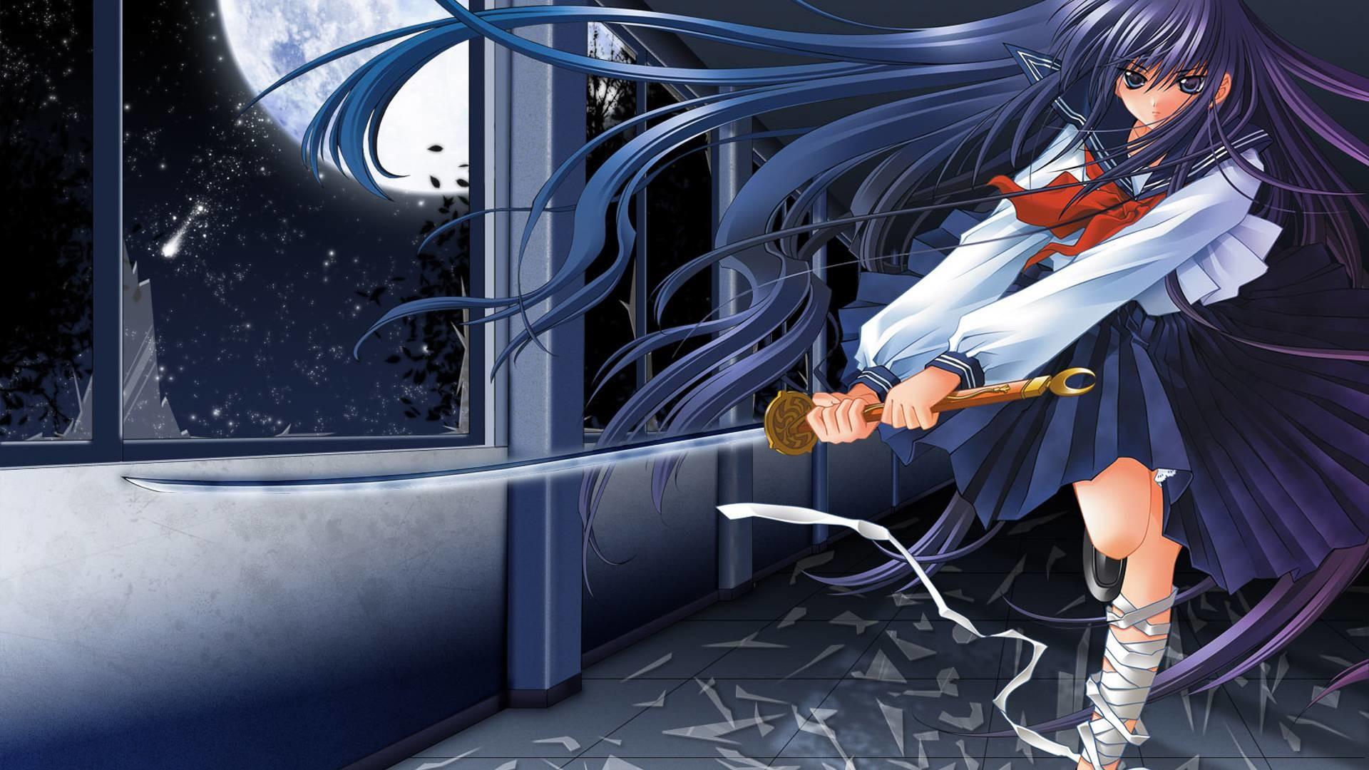 Pin Anime Samurai Girl Wallpaper Hd Wallpapers Desktop Kootation Com .