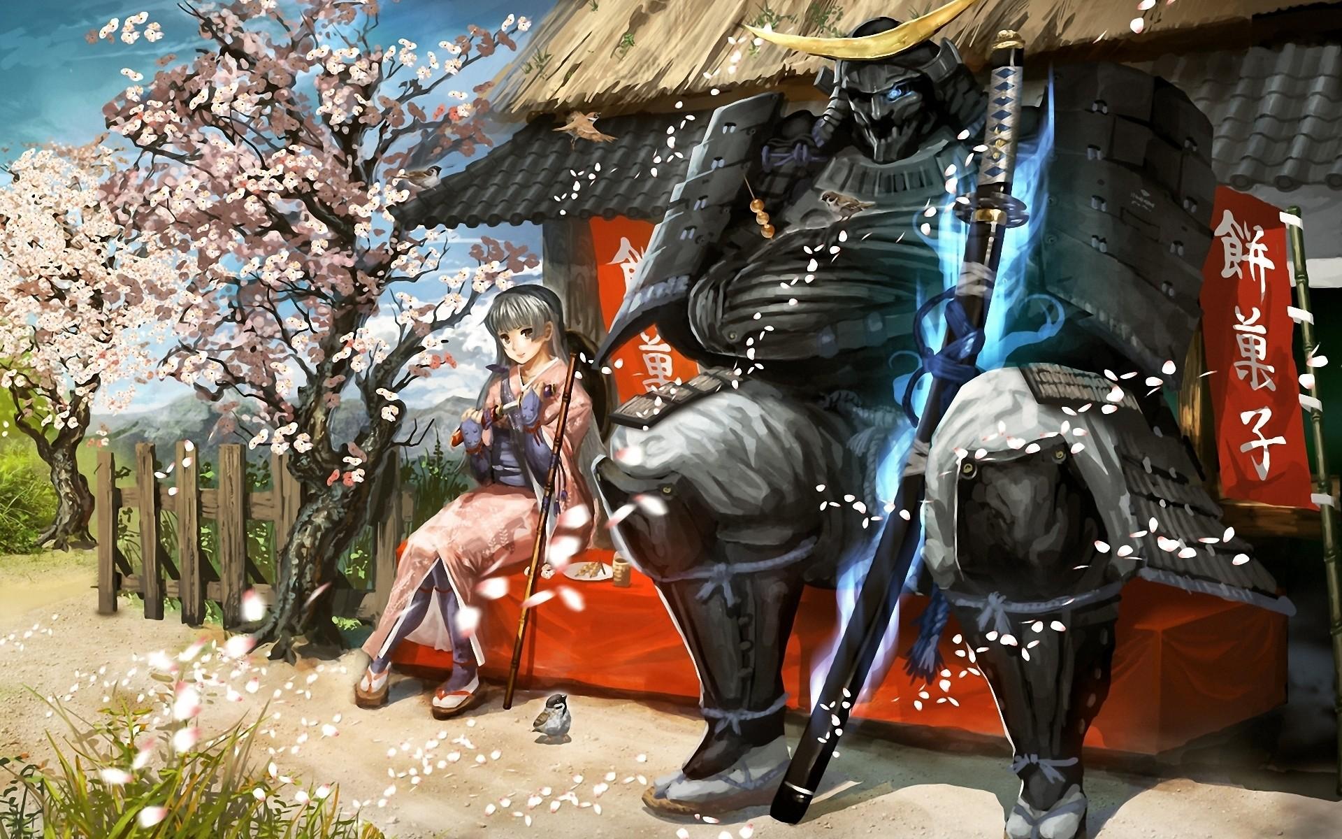 Samurai Art, Anime Wallpaper   HD Desktop Wallpapers