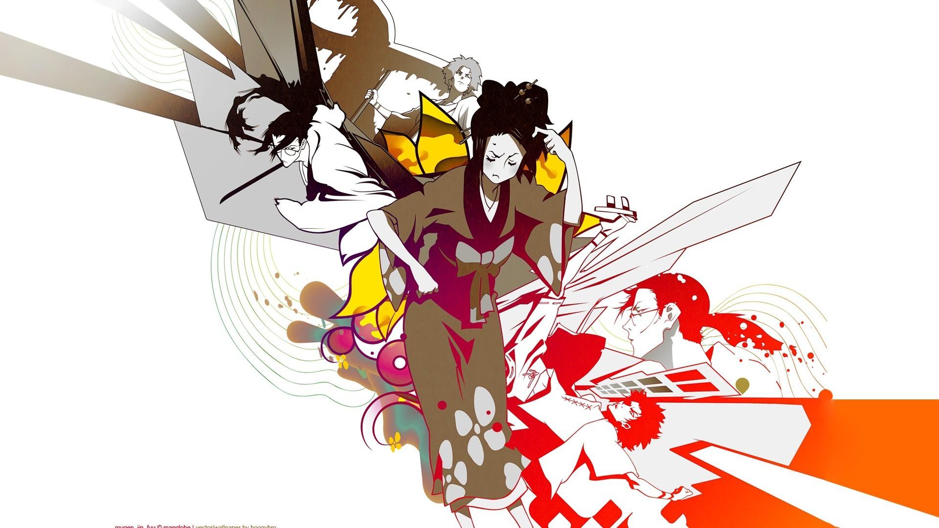 Samurai Champloo Mugen characters anime Fuu Japanese clothes anime girls  Jin Roh wallpaper     222394   WallpaperUP