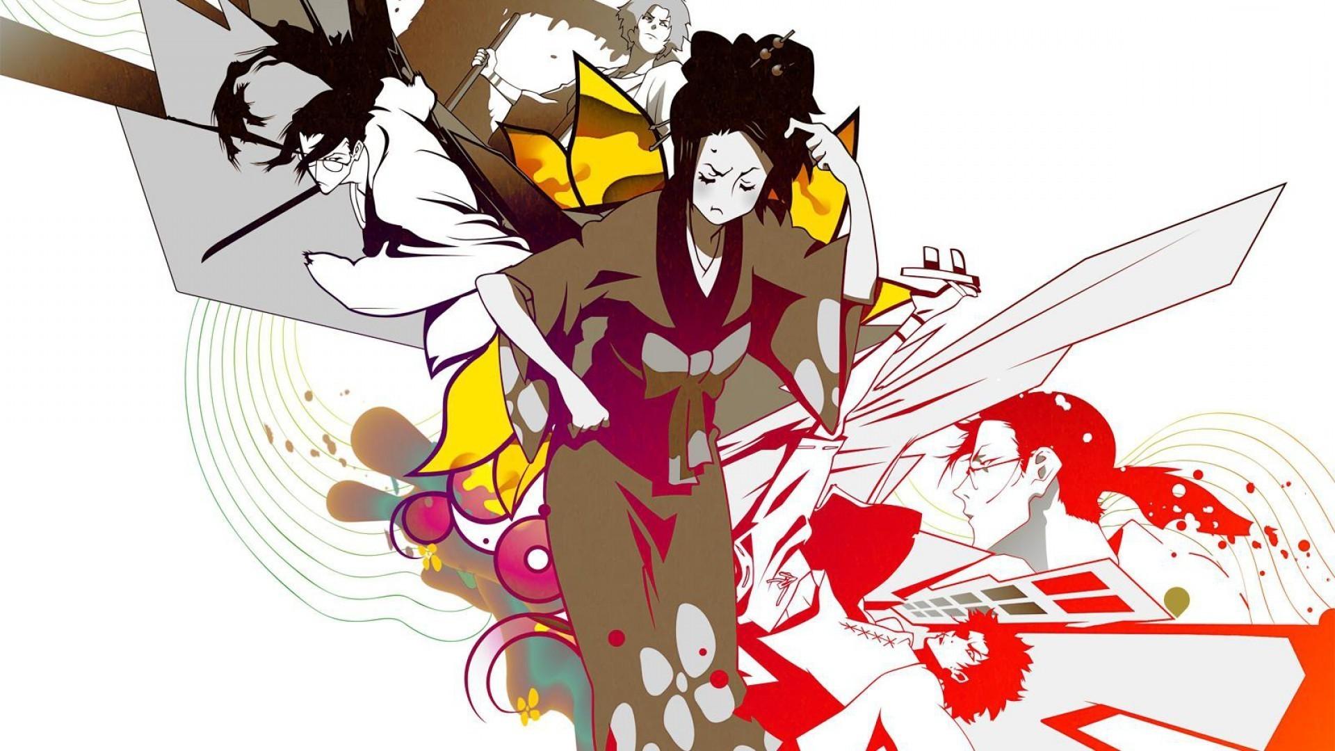 anime, Samurai Champloo, Fuu, Mugen, Jin (Samurai Champloo) Wallpapers HD /  Desktop and Mobile Backgrounds