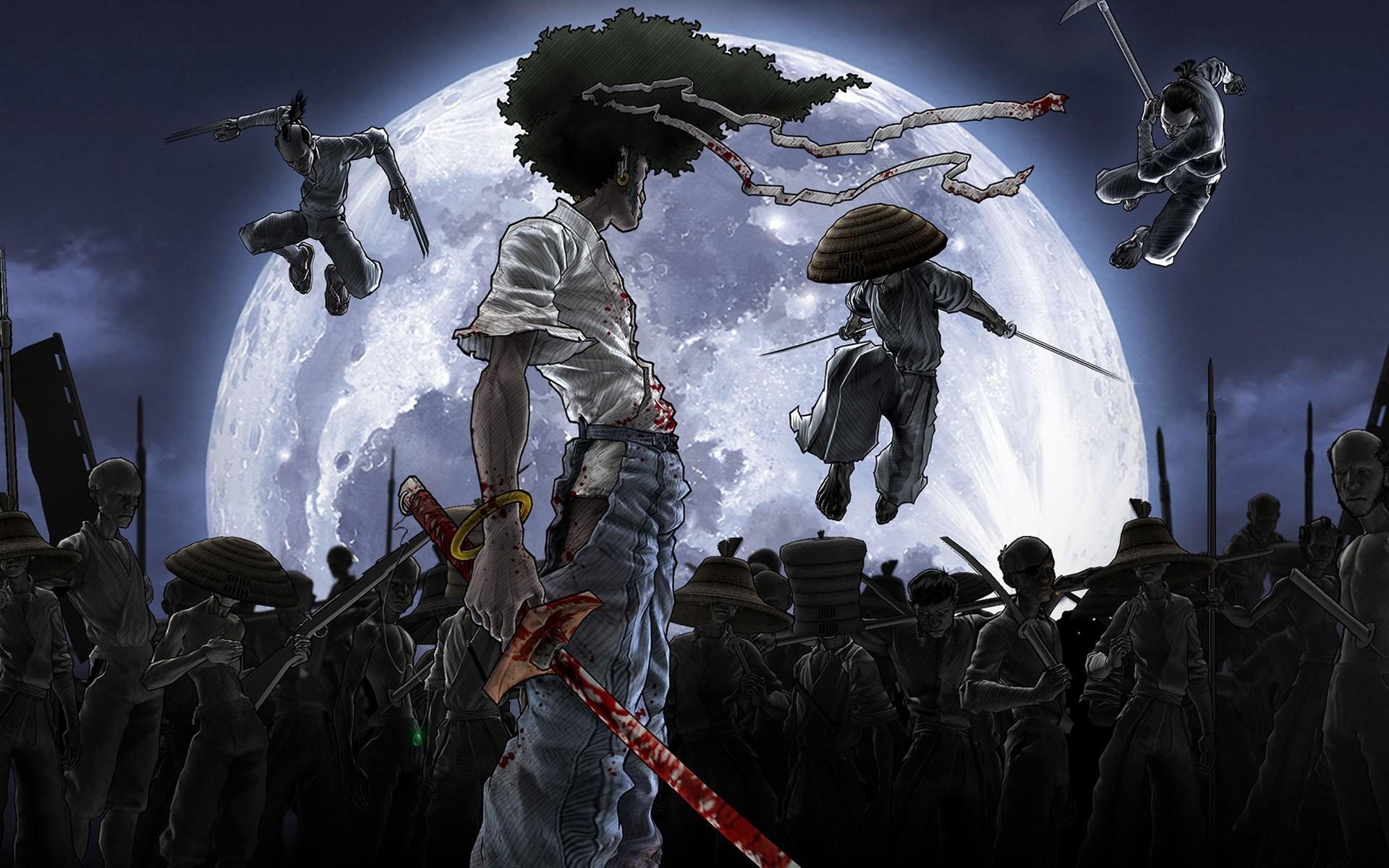 HD Wallpaper   Background ID:128718. Anime Afro Samurai