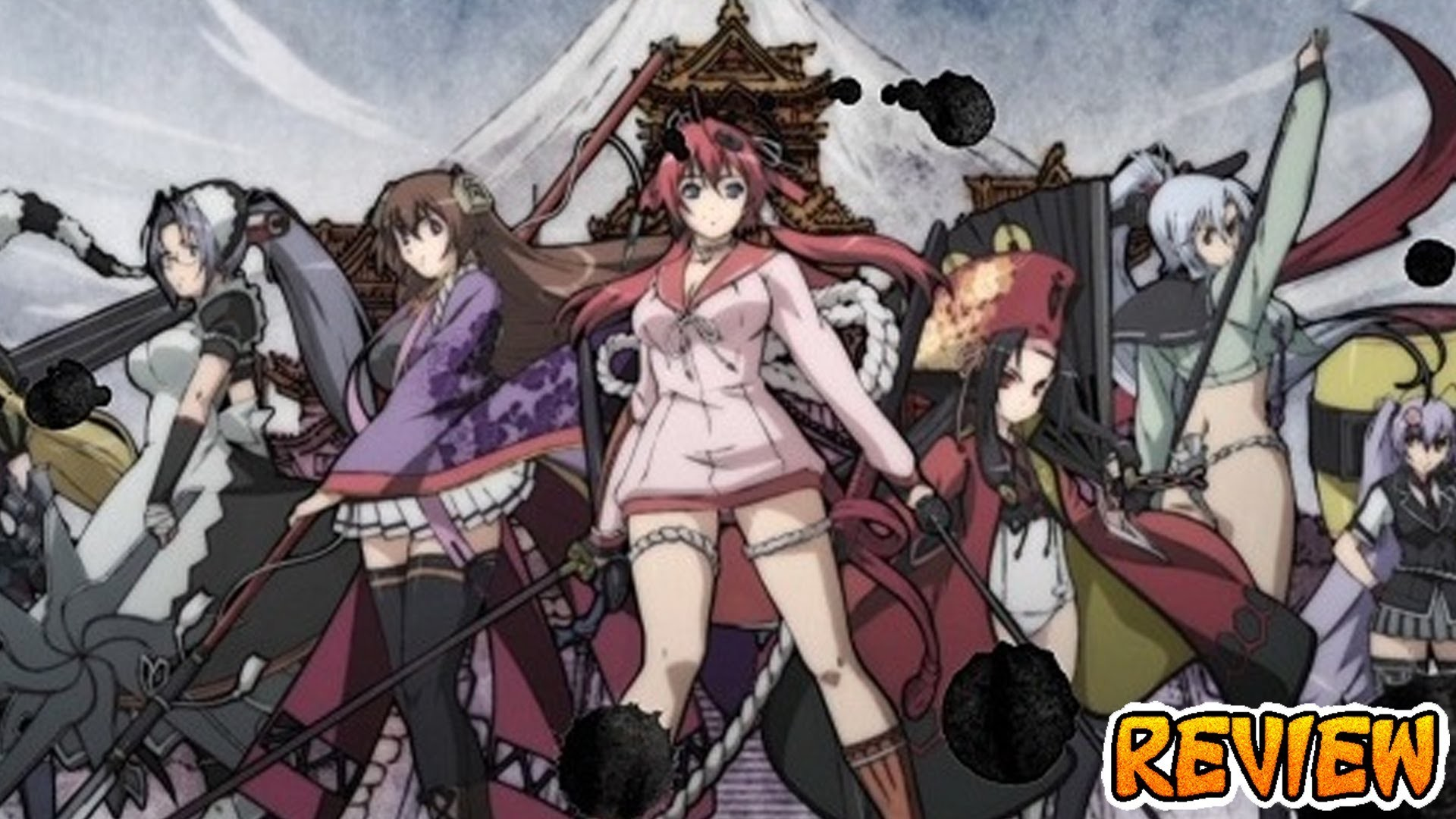 Samurai Girls – Action, Comedy, Ecchi, Harem – Anime Review #20 – YouTube