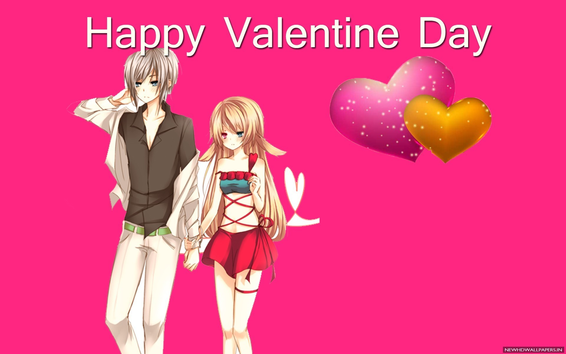 Happy Valentine Day Anime Couple 2015 Photo