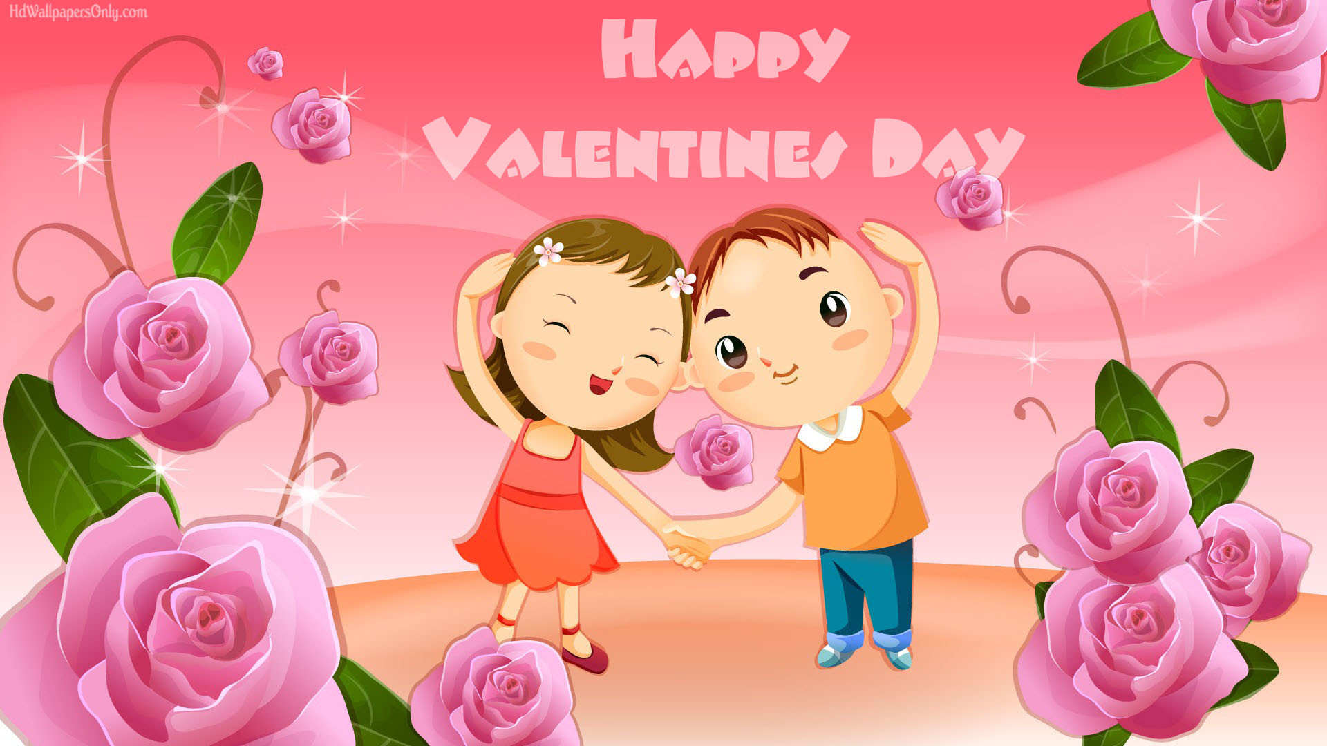 Cute Cartoon Valentine Day 2015 Wallpaper Imag #13269 Wallpaper | High .