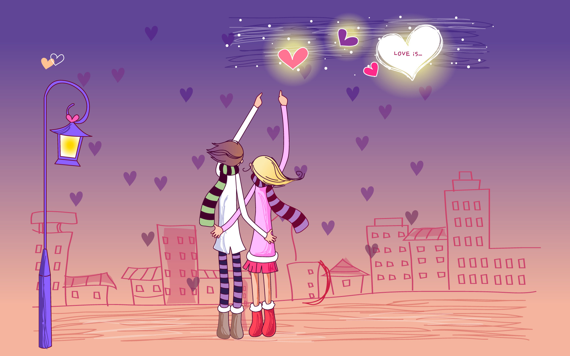 Cartoon Emo Valentines Day Wallpapers.