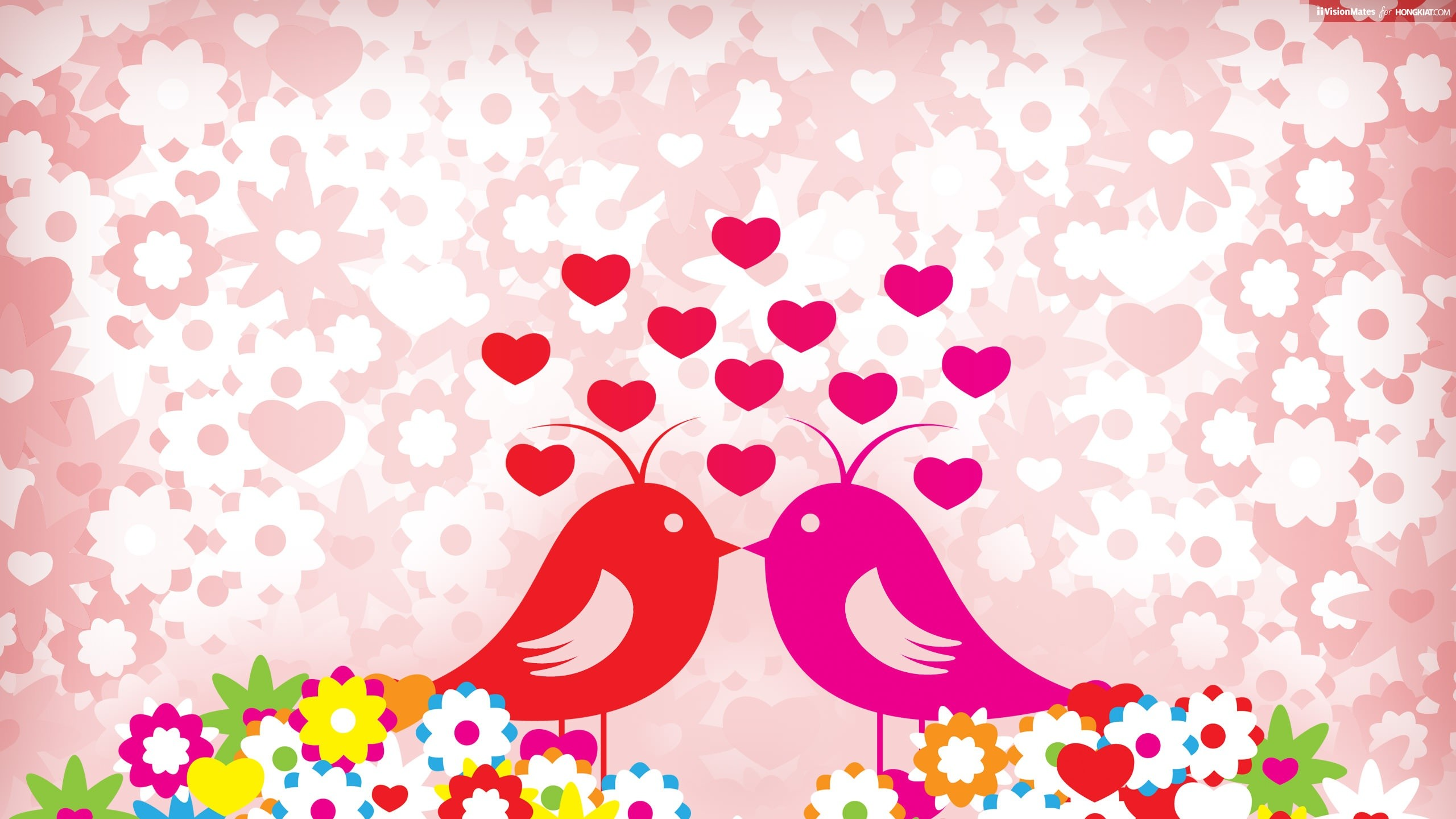 Love Birds Love Birds · Love Fire Wallpaper Valentines Day Holidays