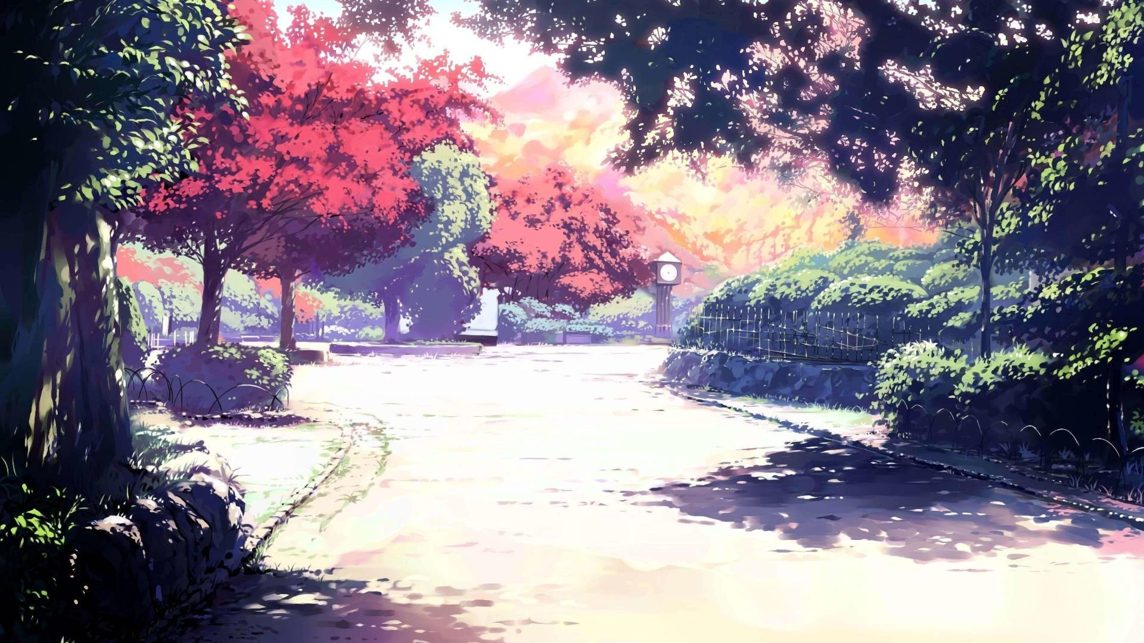 wallpaper.wiki-Sunlight-Spirited-Away-Anime-4k-HD-Wallpaper-PIC-WPE007890
