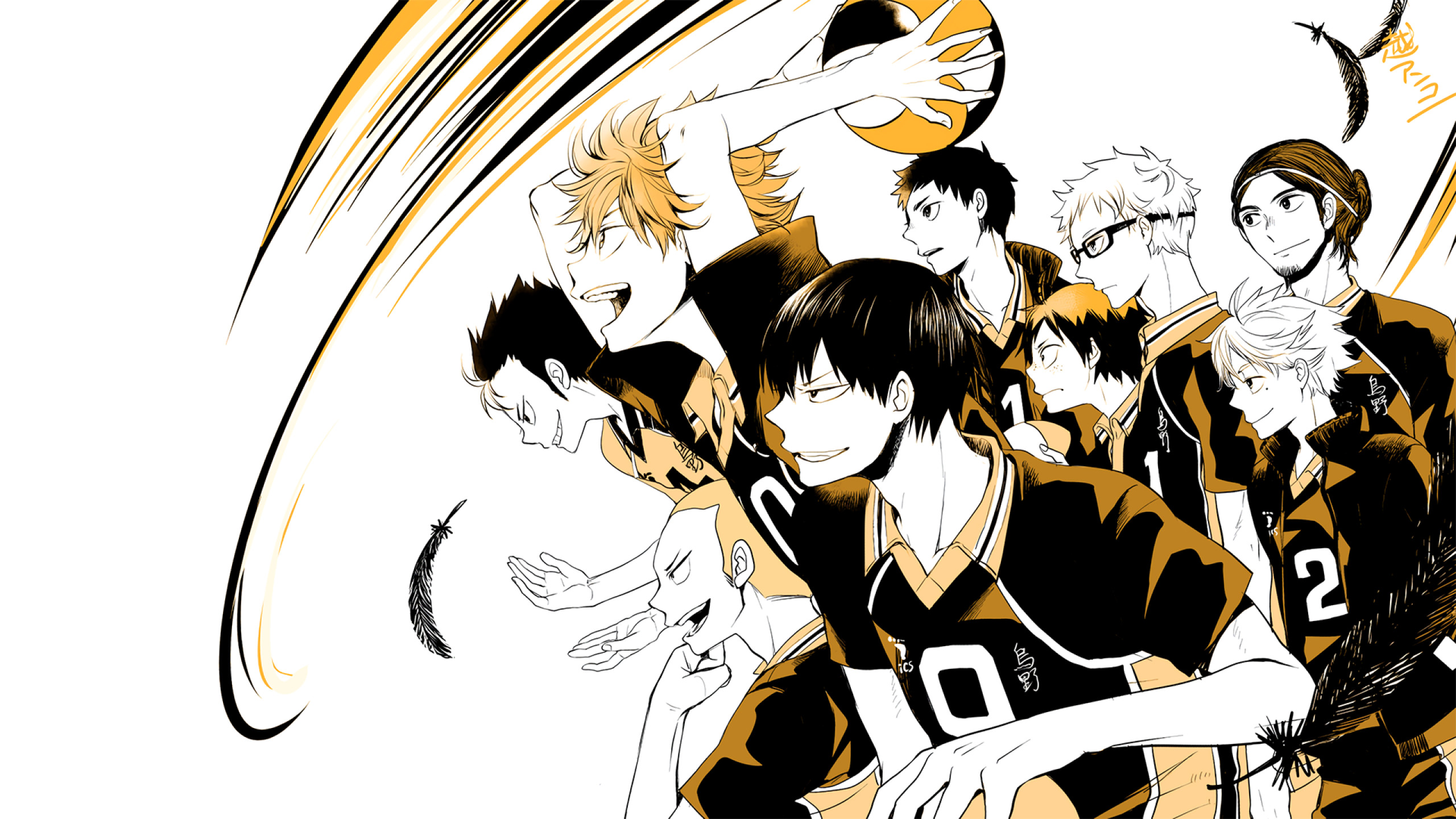 Haikyuu!! Wallpaper Anime HD – 2560×1440