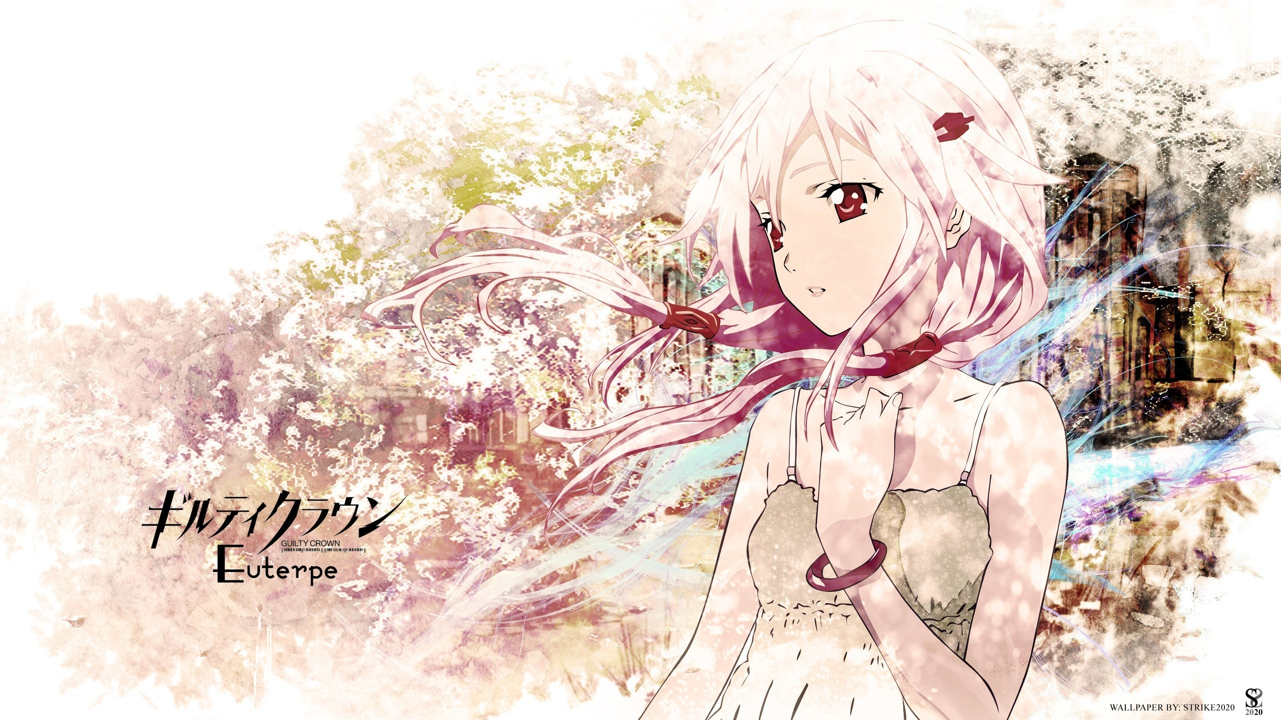 Wallpapers Guilty Crown Girls Anime 2560×1440