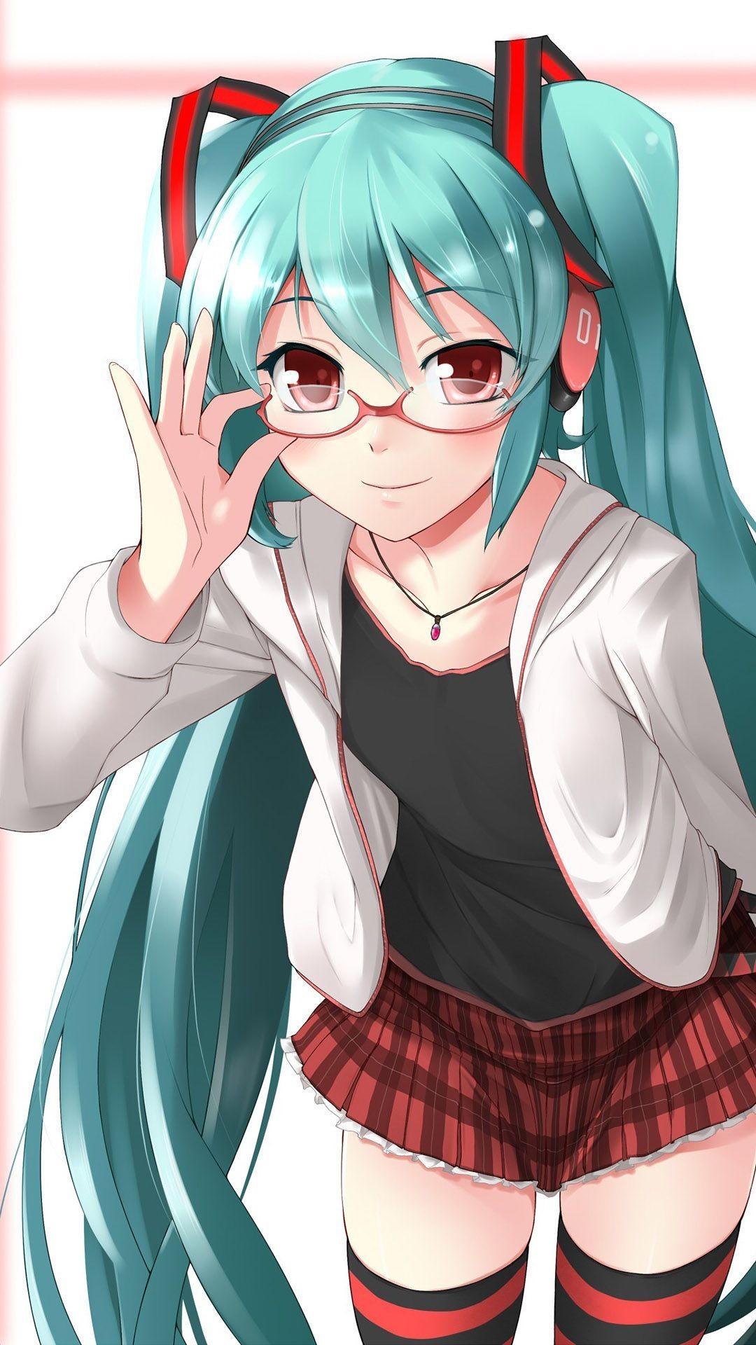 … Hatsune Miku – Vocaloid Anime mobile wallpaper