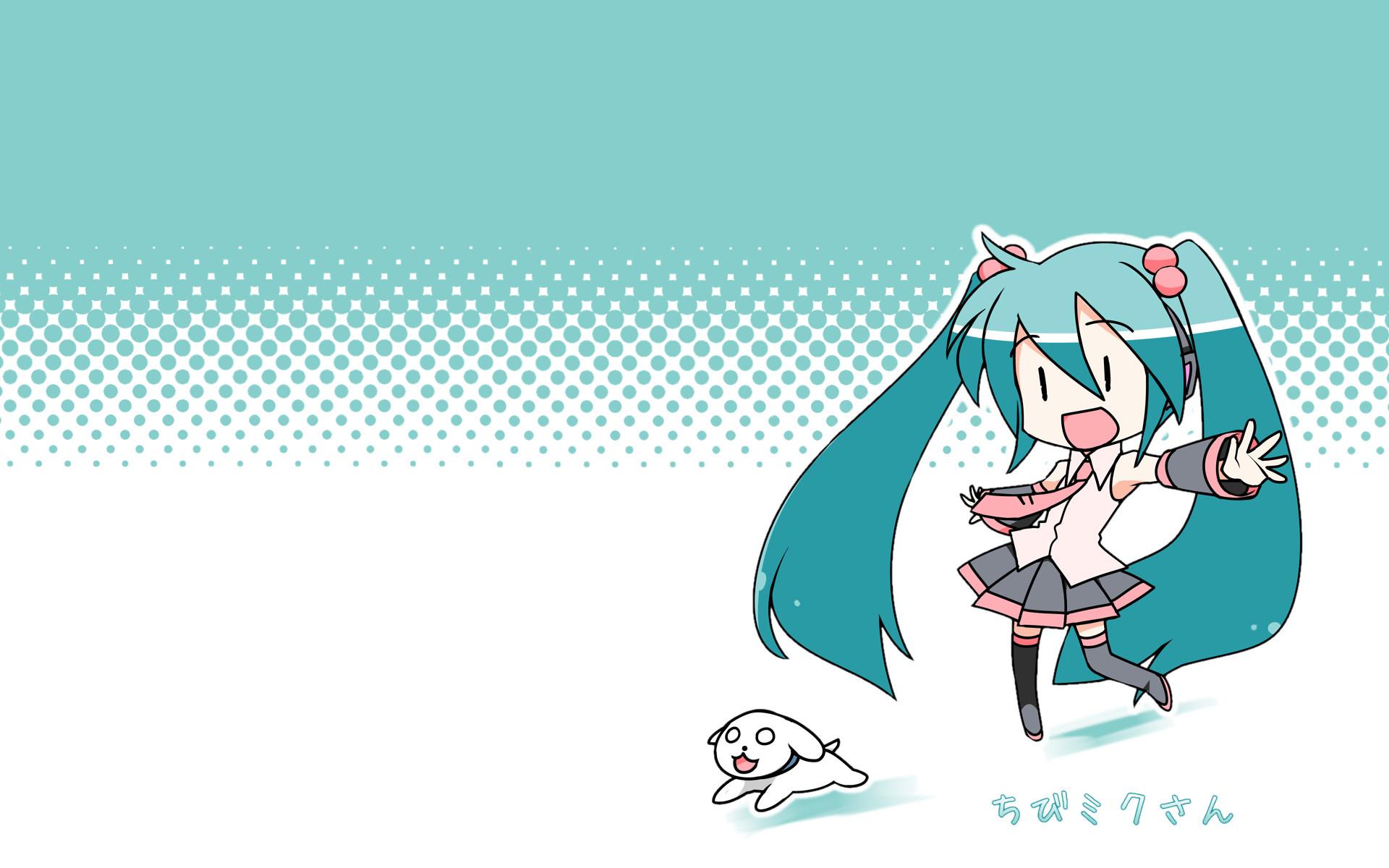 Tags: Anime, Minami, VOCALOID, Hatsune Miku, Wallpaper, Sakura Design