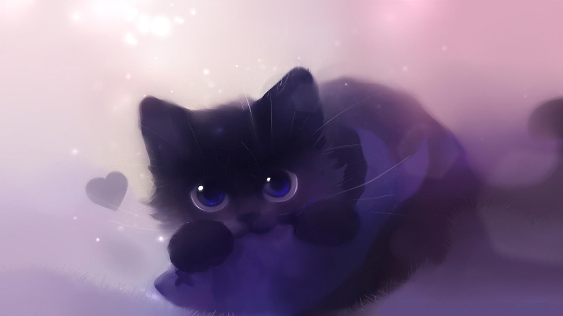 BLACK CAT, By Apofiss wallpaper – ForWallpaper.com