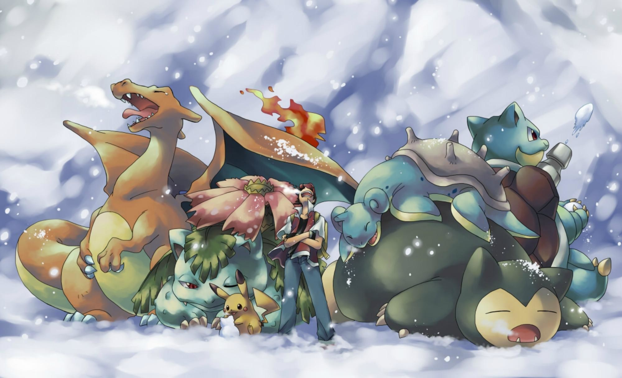 pokemon starters wallpaper full hd with high resolution wallpaper on anime  category similar with all 3d
