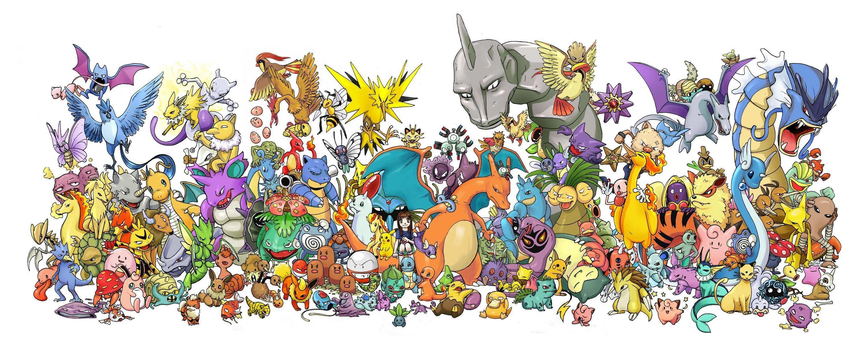Wallpapers For > Original 151 Pokemon Wallpaper