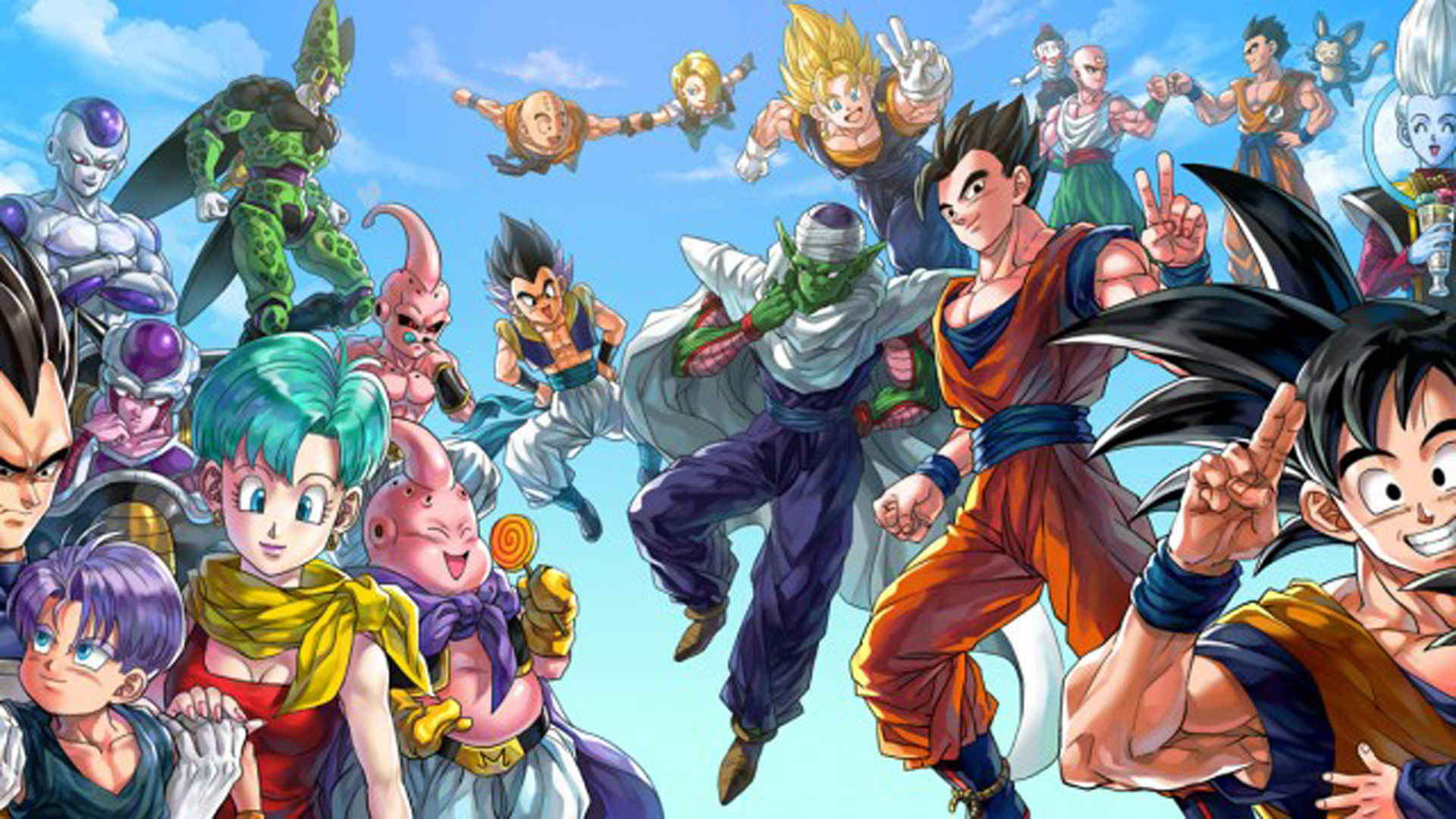 Awesome Dragon Ball Z Backgrounds