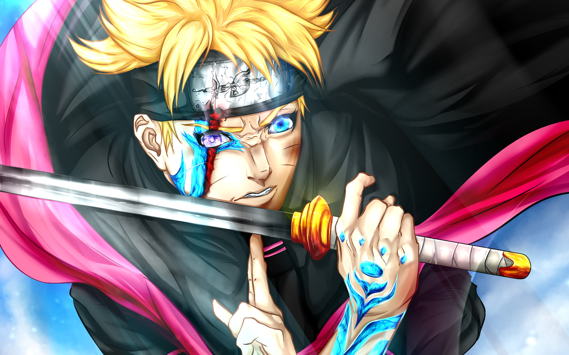 Anime – Boruto Boruto Uzumaki Boruto (Anime) Naruto Bakgrund