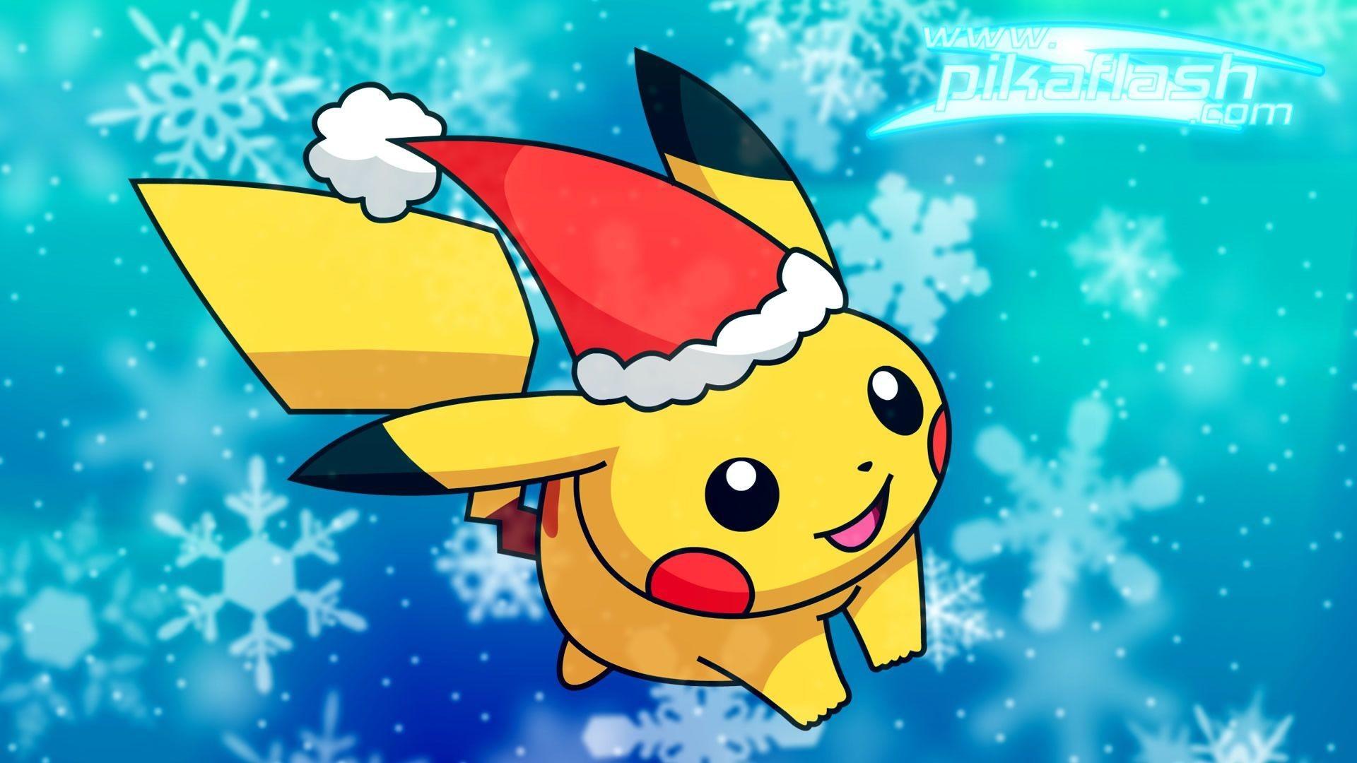Pikachu Christmas HD Wallpaper Pokemon Christmas HD Images