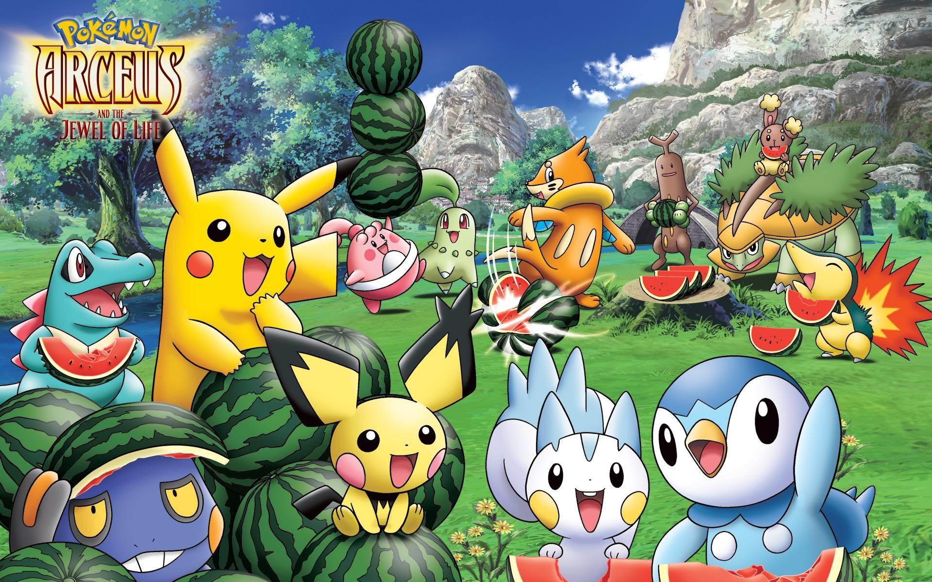 Pokemon desktop wallpapers – Very popular Anime TV show