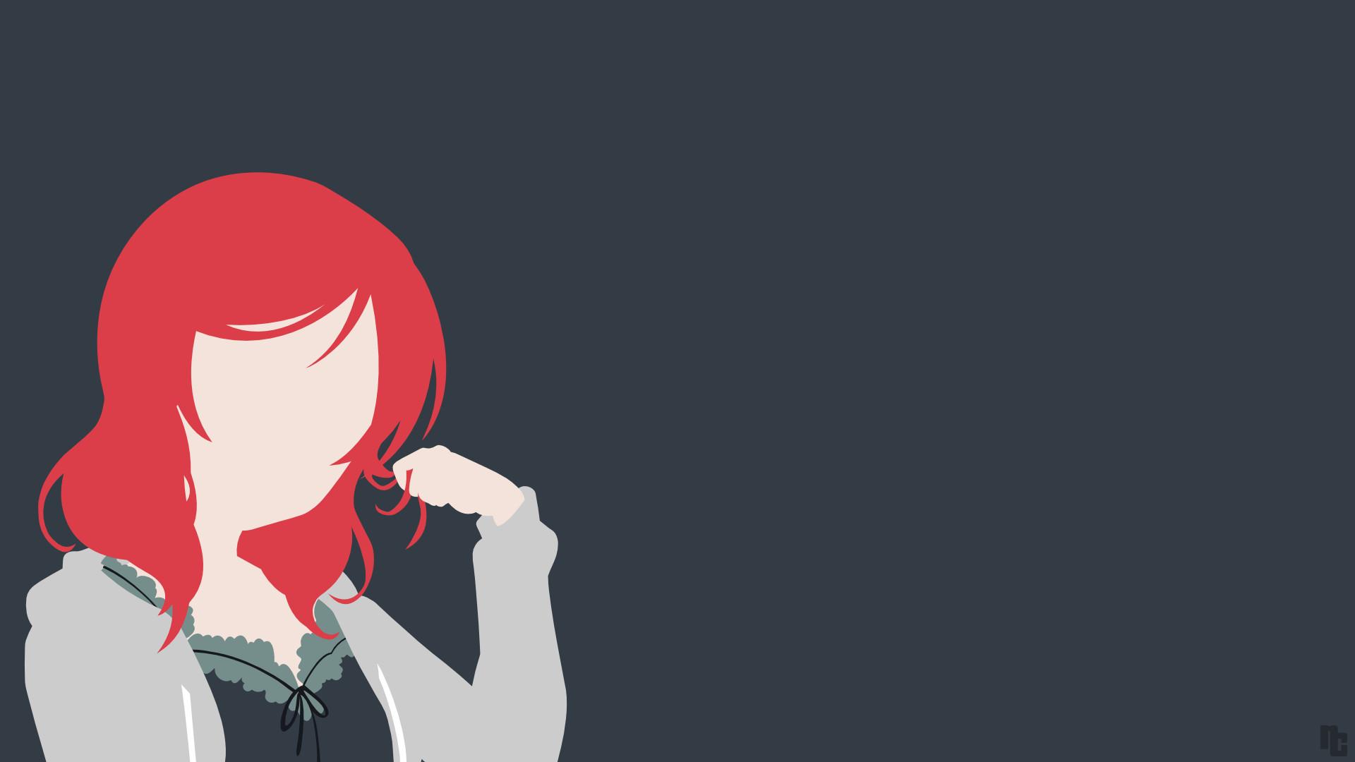 DeviantArt: More Like Hanayo Koizumi (Love Live!) Minimalist Wallpaper by