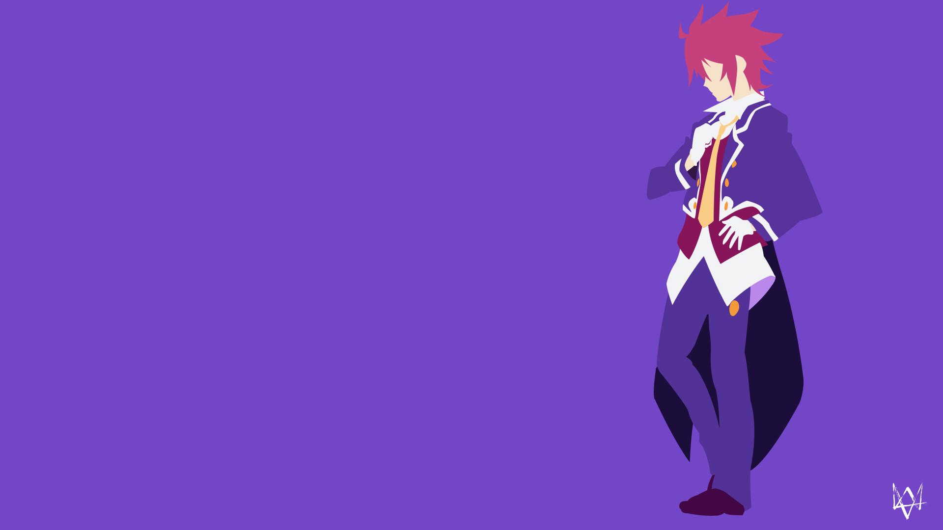 … Sora (No Game No Life) Minimalist Anime Wallpaper by Lucifer012