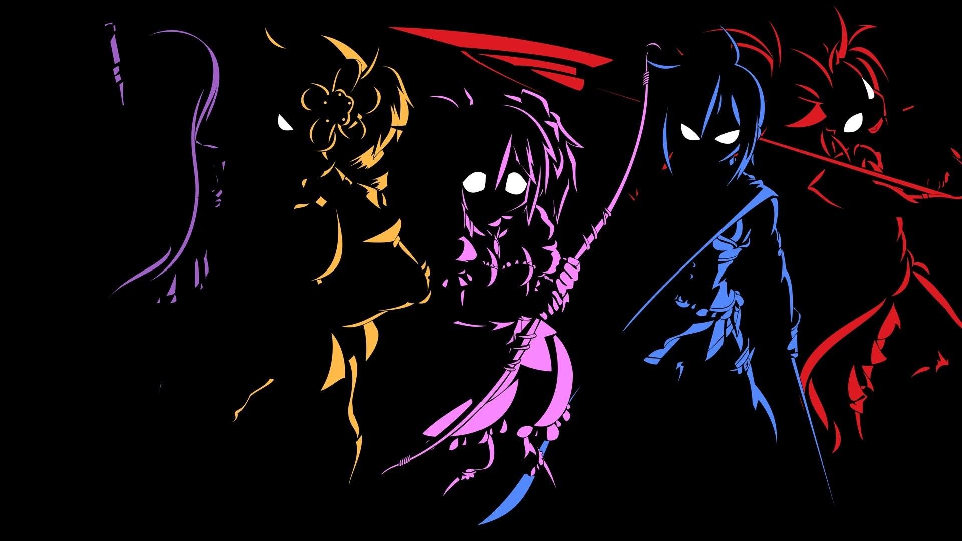 Anime Manga HD Dark Minimal Otaku Girl Boy Kill Moon …