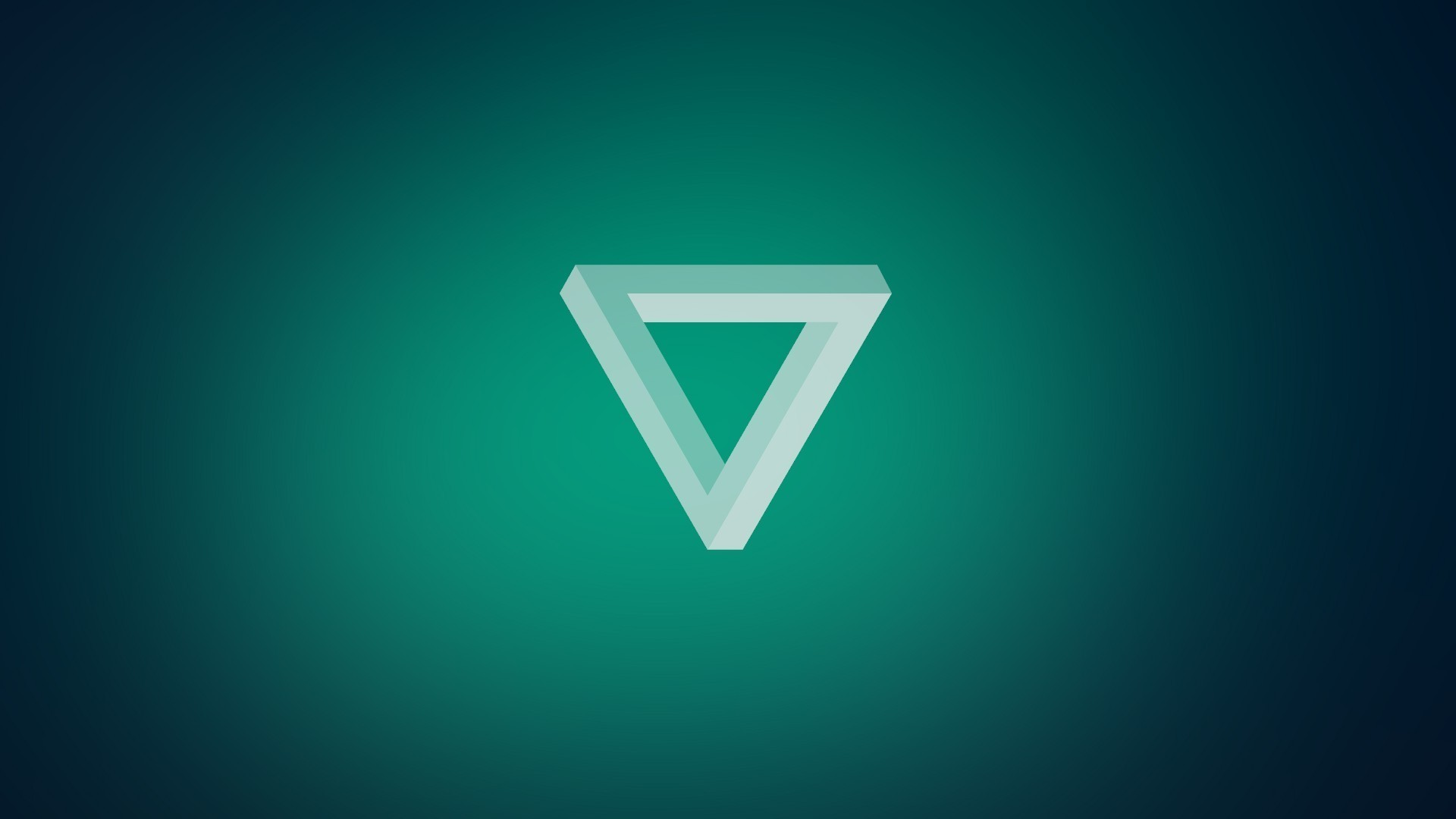 Anime, Penrose Triangle, Minimalism Wallpapers HD / Desktop And ..