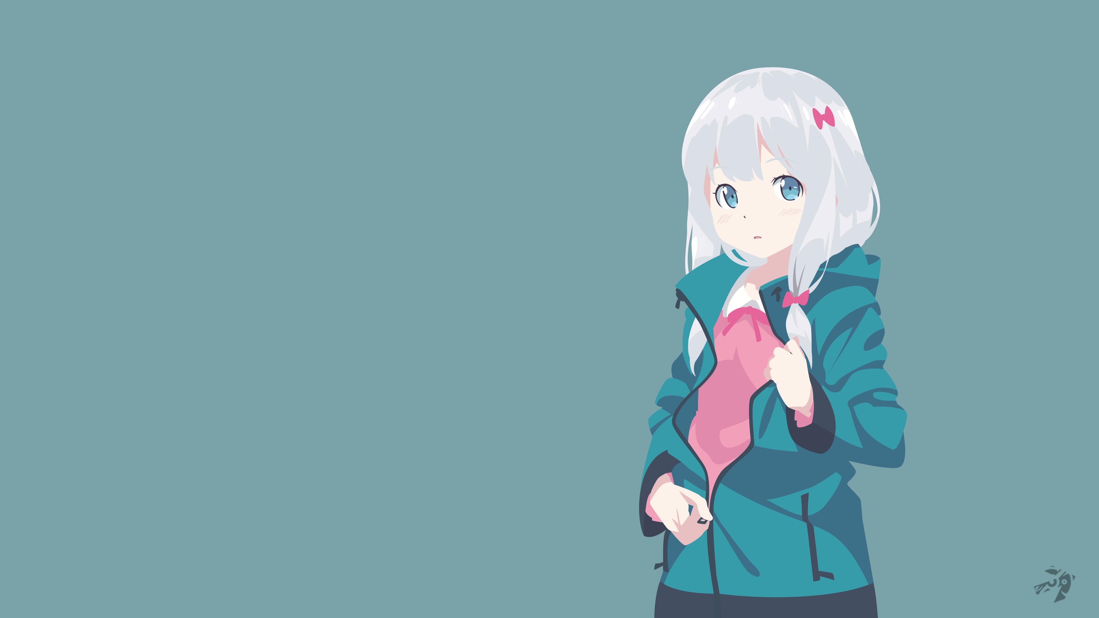 … Sagiri Izumi V2 | Eromanga Sensei Minimalist Anime by Lucifer012