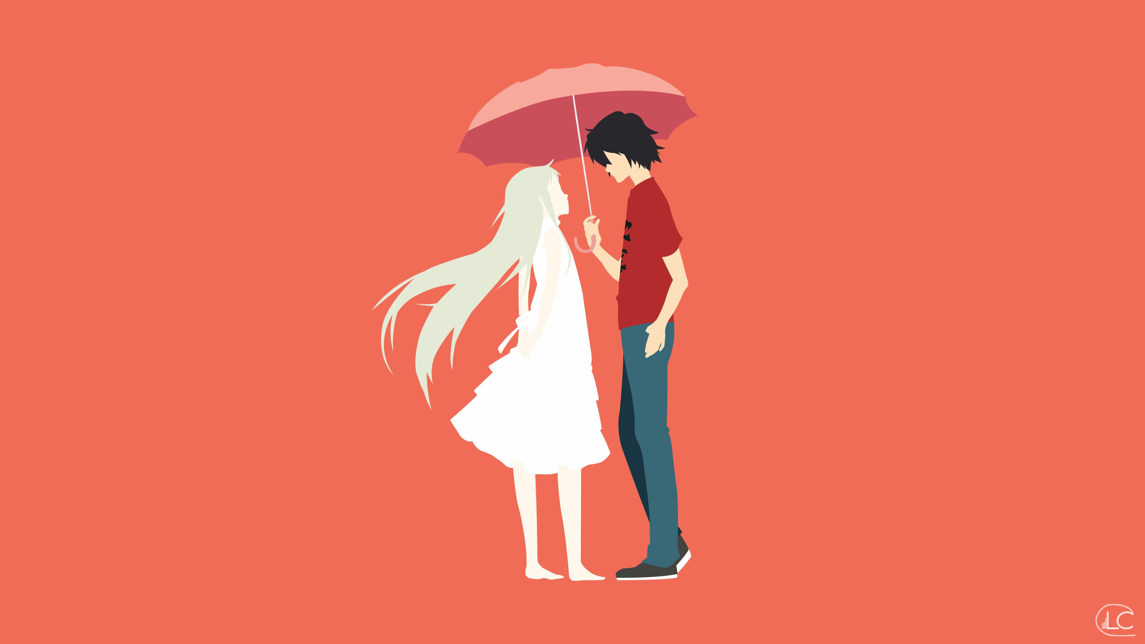 … Menma x Jintan | Anohana Minimalist Anime by Lucifer012