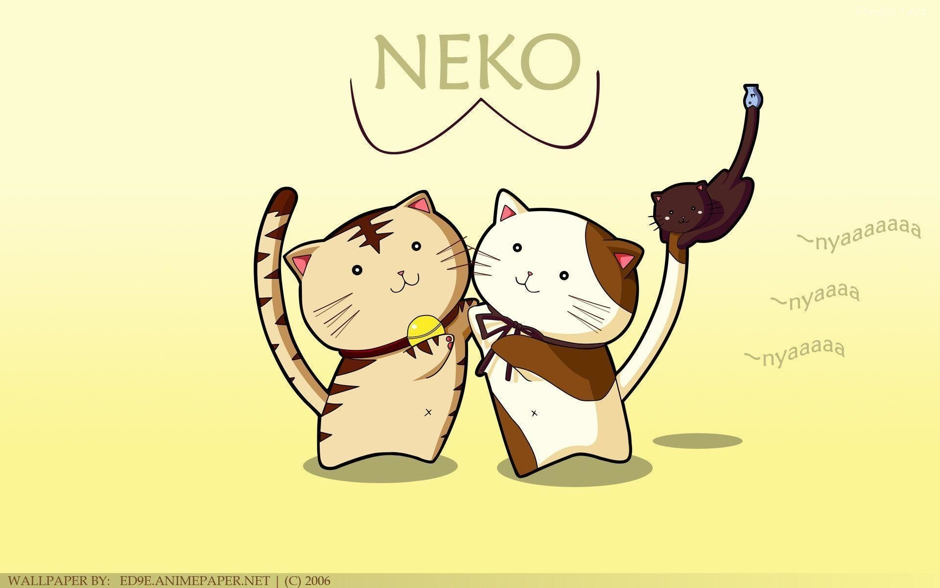 Descargar Fondos de pantalla neko hd widescreen Gratis imagenes #