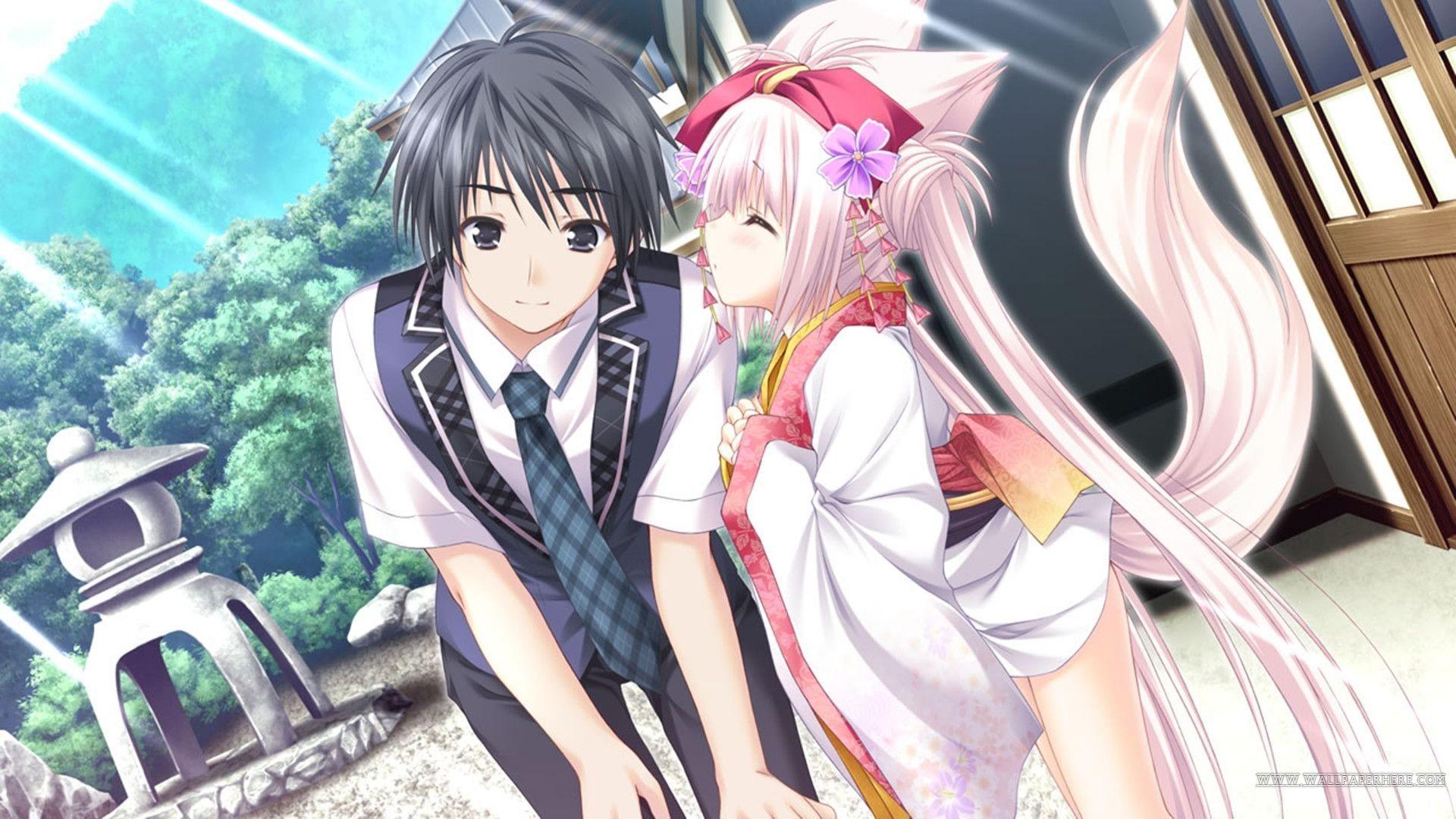Cute Anime Couple Wallpaper Hd – Anime Wallpaper