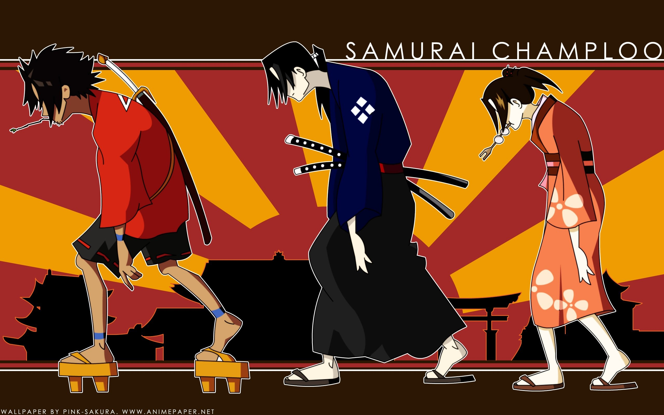 Samurai Champloo Jin Mugen Fuu Kasumi wallpaper | | 303840 |  WallpaperUP