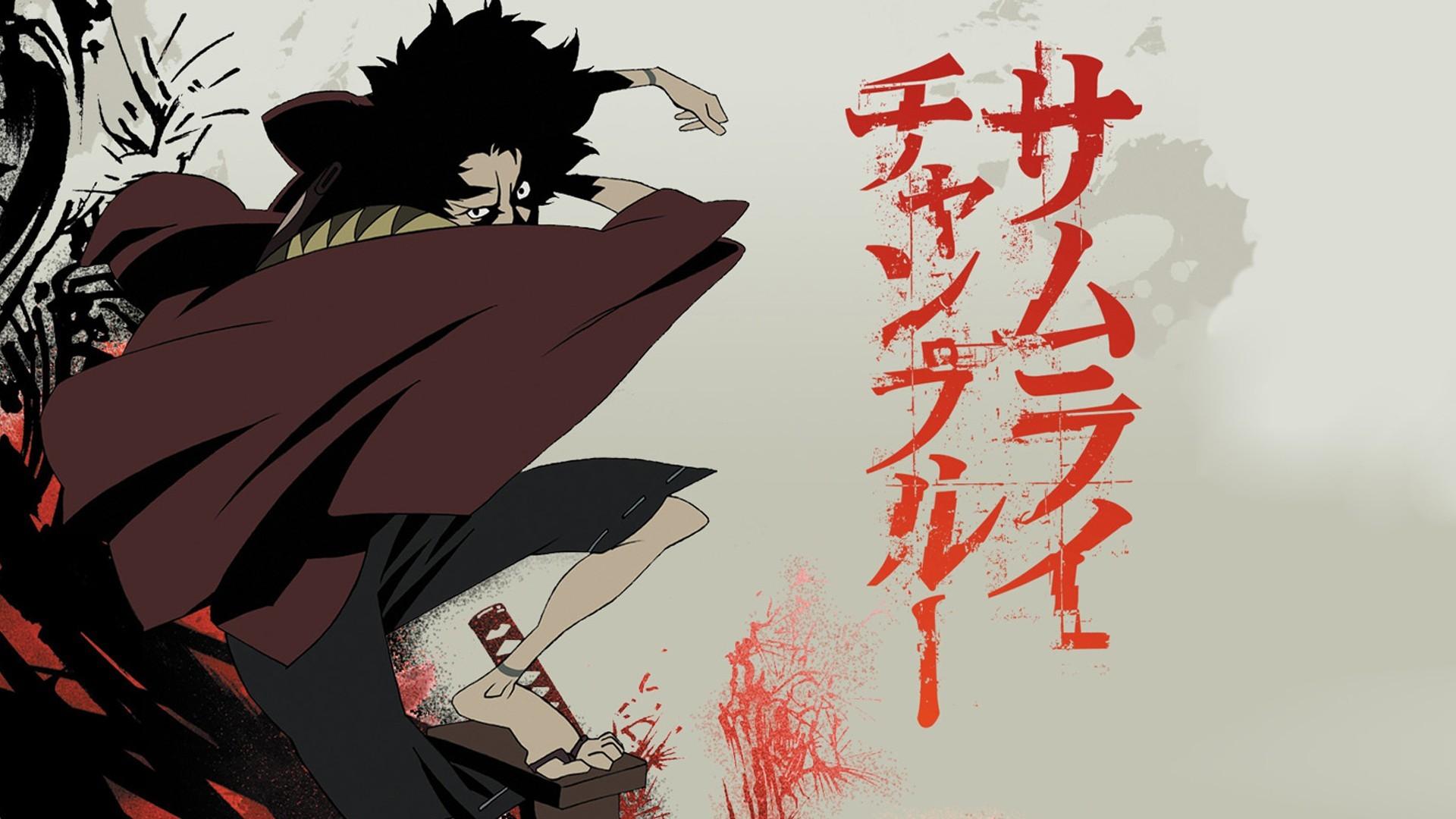 Anime Samurai Champloo Mugen anime illustration