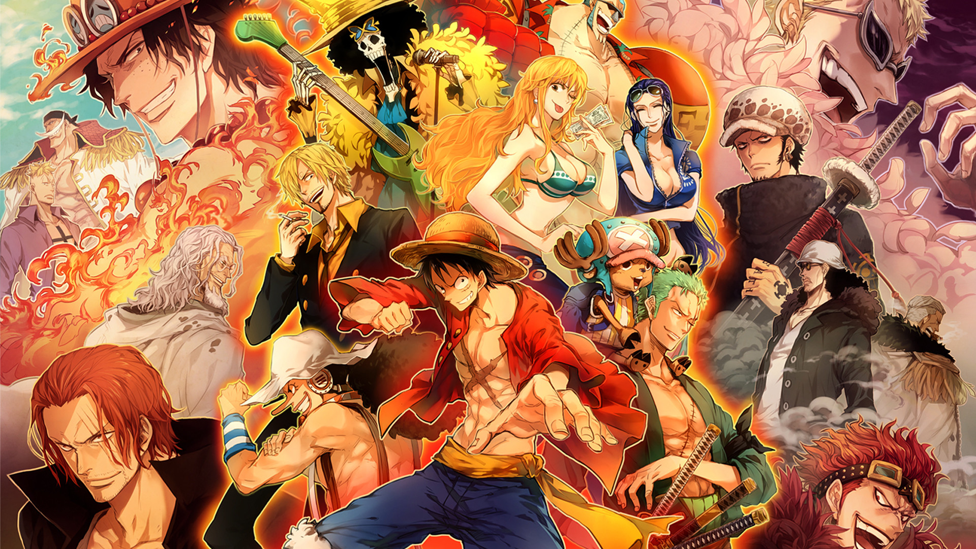 All Character Anime Movie One Piece Wallpaper For Desktop HD #26820929