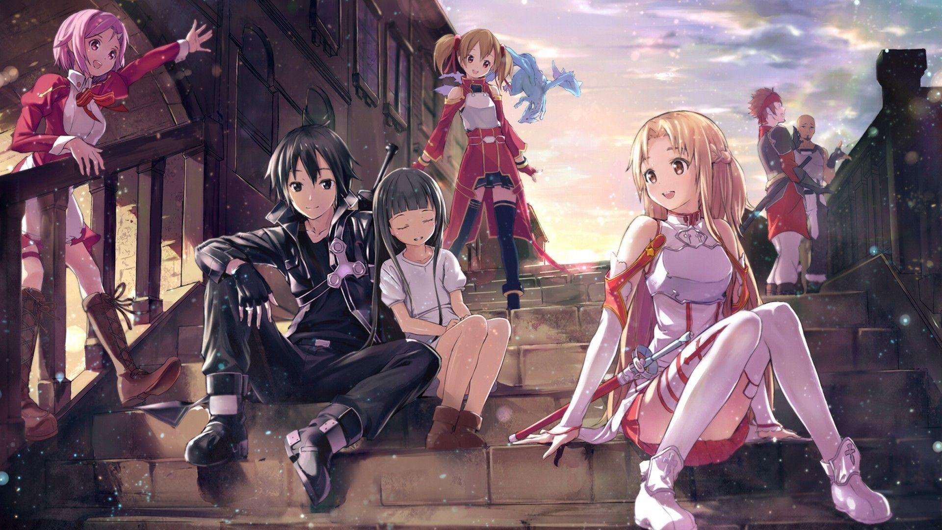 Sword Art Online – Anime | Sword Art Online | Pinterest | Sword art online,  Sword art and Art online