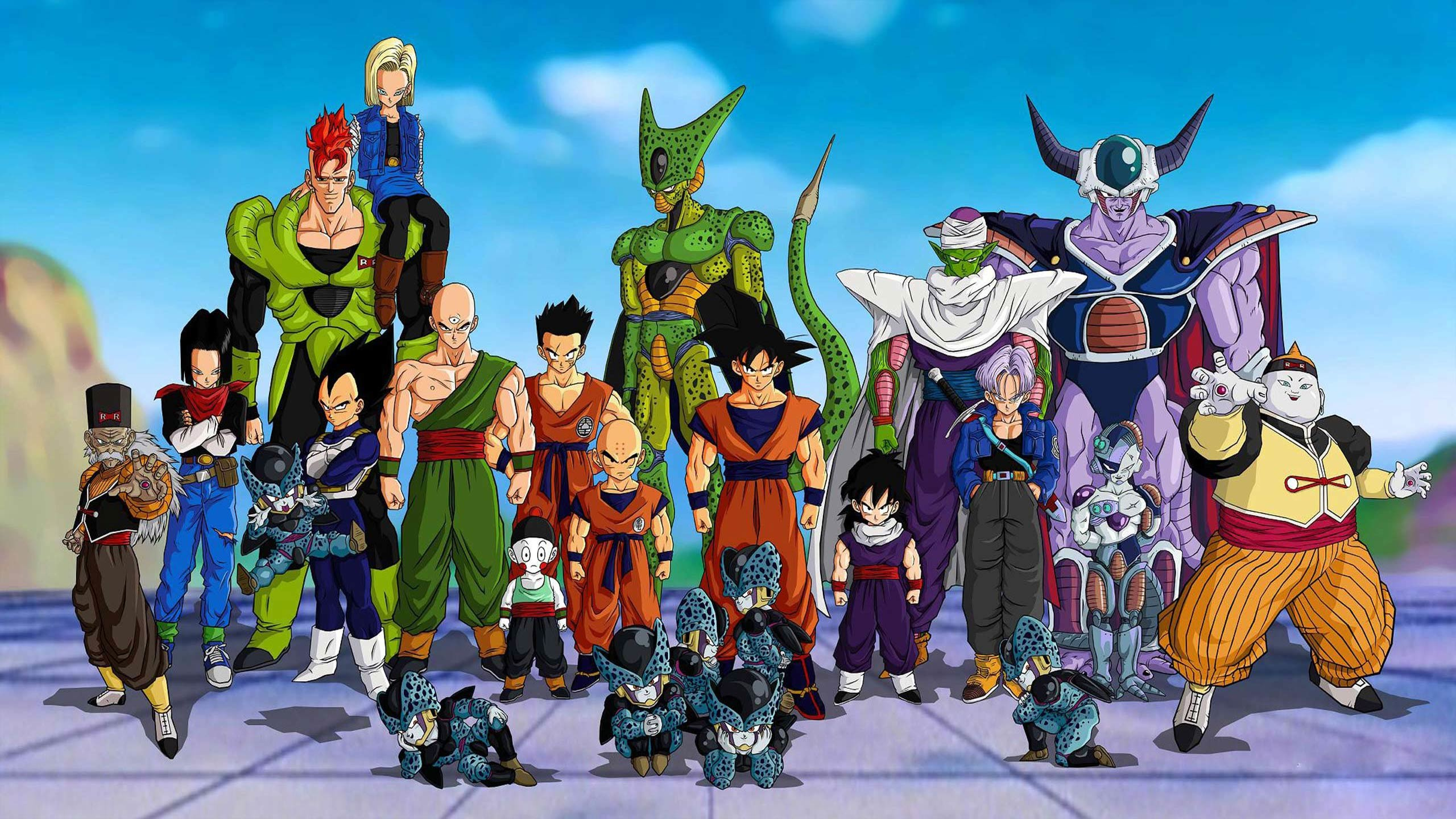 Dragon Ball Z DBZ HD Wallpapers, computer desktop wallpapers, pictures,  images