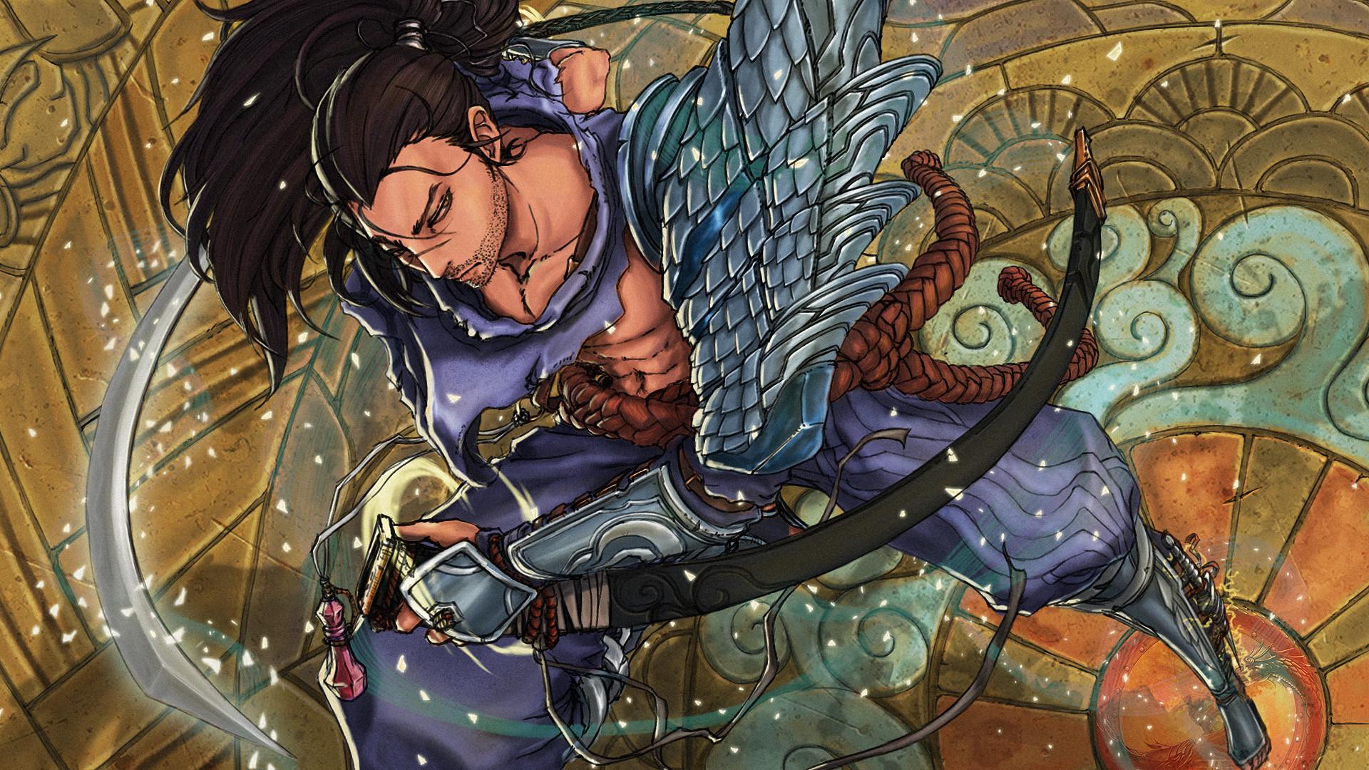 Tags: Anime, Kumagzter, League of Legends, Yasuo (League of Legends)