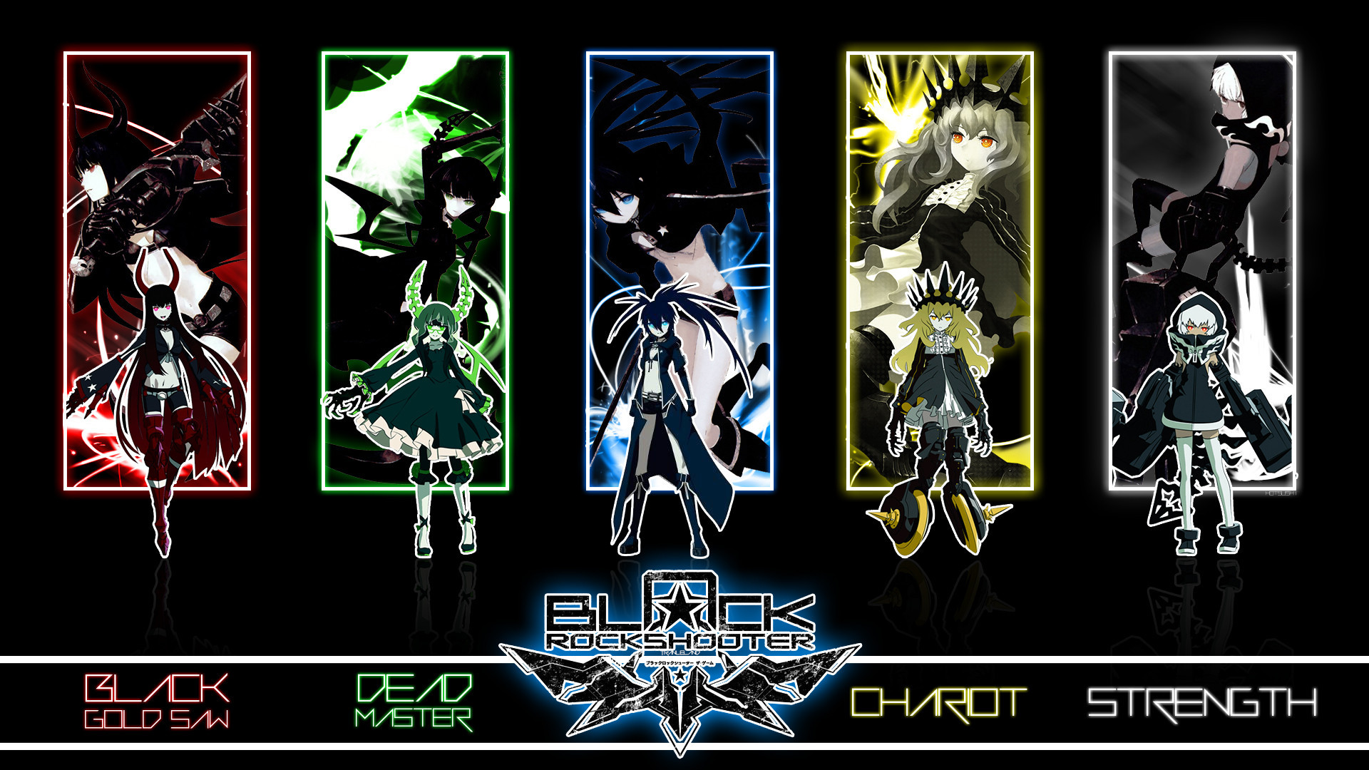 11 Chariot (Black Rock Shooter) HD Wallpapers | Backgrounds – Wallpaper  Abyss
