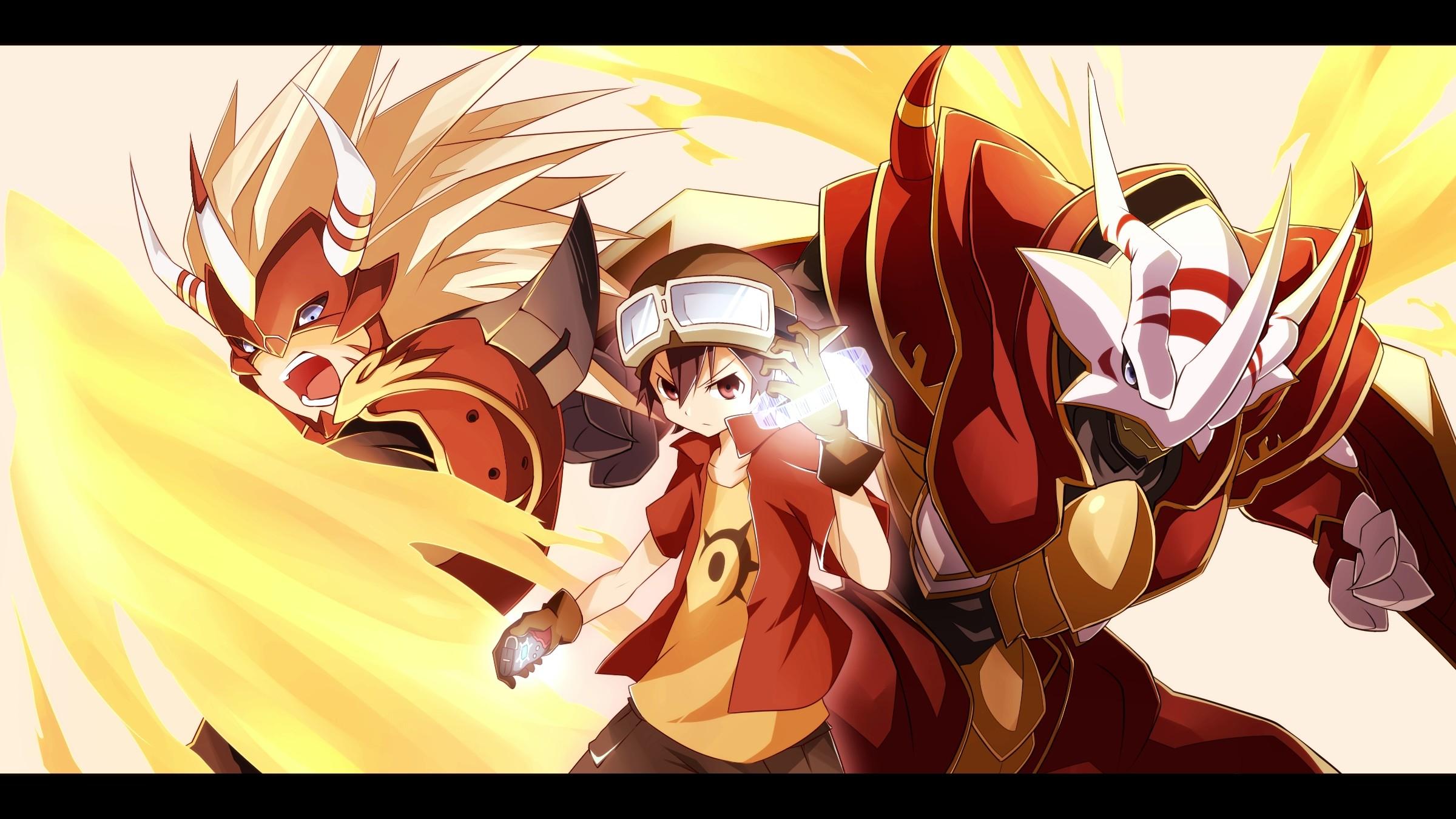Digimon Wallpaper 2400×1350